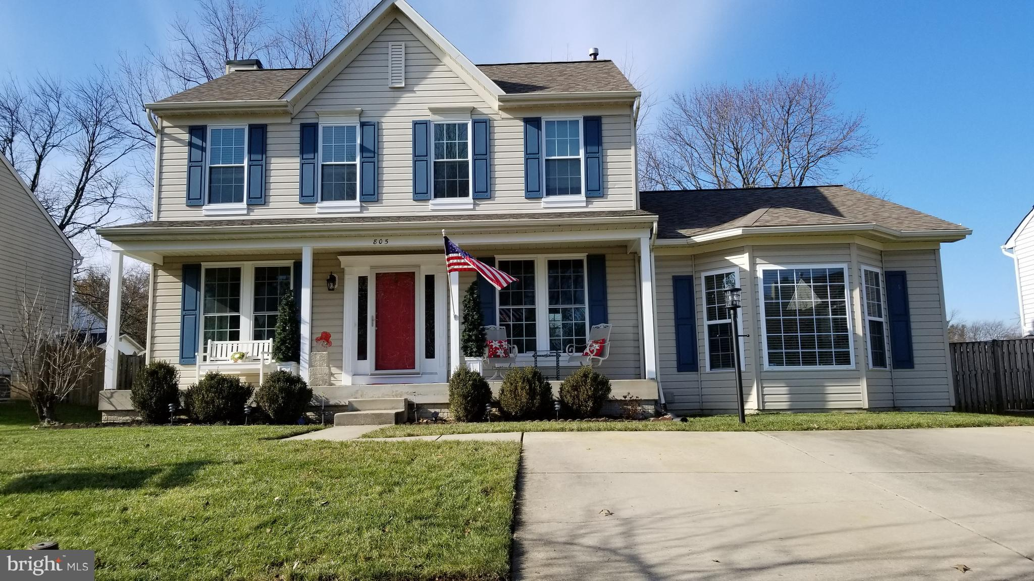 805 VACATION DRIVE, ODENTON, MD 21113