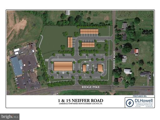 Property for sale at 1 Neiffer Rd #Lot 1A, Royersford,  Pennsylvania 19468