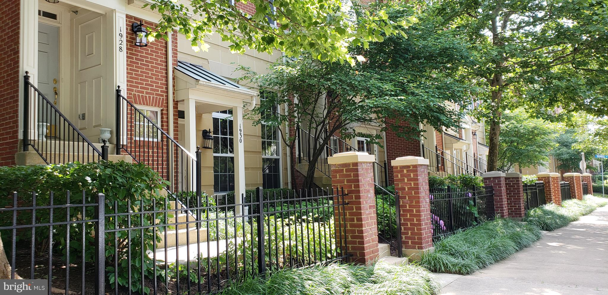 FURNISHED ...4 Level Brick Townhouse available for Rent -  Location can't be beat! Walk to Reston Town Center, Restaurants, Shops, Entertainment &/or Work?    3 Spacious Bedrooms / 2.5 Bath -  Great Potential as a Corporate Rental- Will consider multi year lease.  Amenities include:  2 Story Formal Living Room; Walls of Windows; Hardwood Flooring on 2nd Level;  3 Sided Gas Fireplace shared by Family Room, Kitchen and Dining Areas.  Spacious Master Bedroom/ Vaulted Ceilings- 2 Walk In Closets/ Dual vanities/ Spa Tub/ Glass Shower enclosure. Easy Access  Laundry on Bedroom Level.   Step onto Exterior Deck off Kitchen for fresh air.  Are you a  Car Enthusiast?... there is Multi Car Parking in front and rear of unit (private spaces) as well as a 1 car attached Garage.  For Outdoorsy Persons: Convenient W O & D Bike/ Run/Walk trail behind unit, Community Pool and Clubhouse/Fitness Center all steps away.  Sorry... No Pets; No Smoking.  Unit Available Dec 15th or after... Deposits required:  $55  per person application fee/ $3450 ( certified funds) first Months Rent/ $3450 Security Deposit.    If Interested call Nan - ReMax at 703-399-1266 for more details and information.