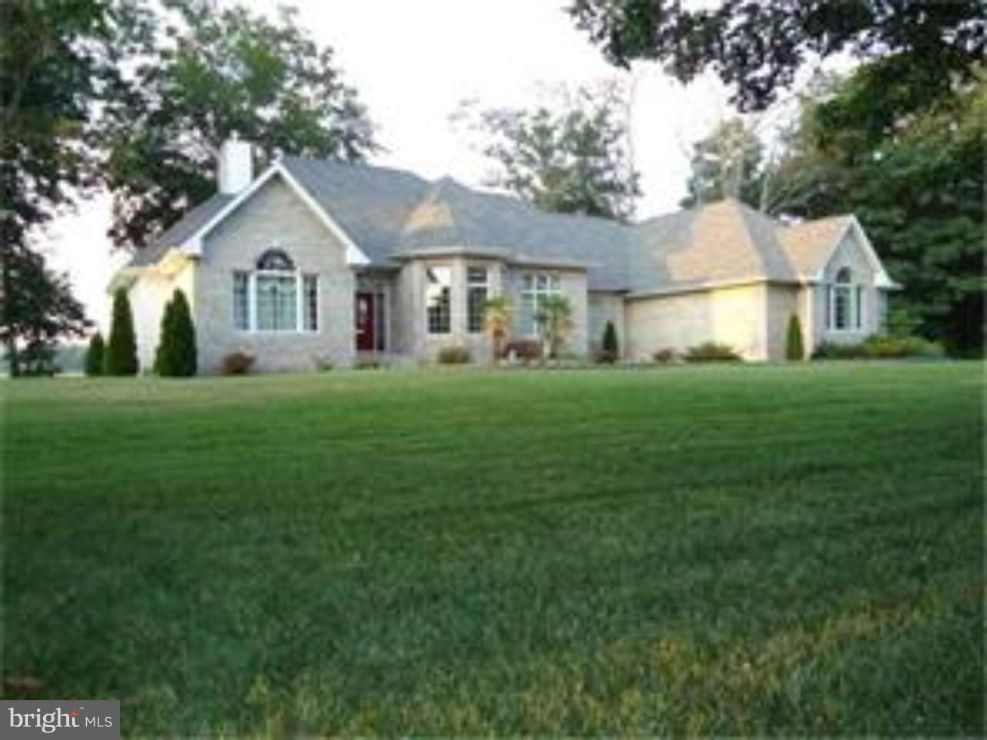 Magnificent waterfront ranch in highly sought after Windswept in Caesar Rodney School District.  Beautiful gleaming marble floors can be found throughout the entire home.  Stepping into the foyer and proceeding through the archway into the great room you will notice the water view through your floor to ceiling wall of windows with soaring cathedral ceiling and floor to ceiling fireplace.  The appliances are new and the master bedroom features double walk-in closets, marble counters, a jetted tub and separate shower.  the home boasts a split floor plan so the home owner can be separate from their guests for privacy.  The third bedroom is currently being used as a home office.  There is a large over-sized 3 car garage, a landscape lighting package, irrigation system and far too many upgrades to mention them all here.  There is a full basement that can be finished off for future use, but current owners used it for storage.  A secluded 12 X 24 Trex deck was recently added for enjoying the wonderful water views.  You can enjoy the water views whether relaxing on the deck, in the expansive great room or in the jetted tub in the master bedroom.  Truly a unique home.