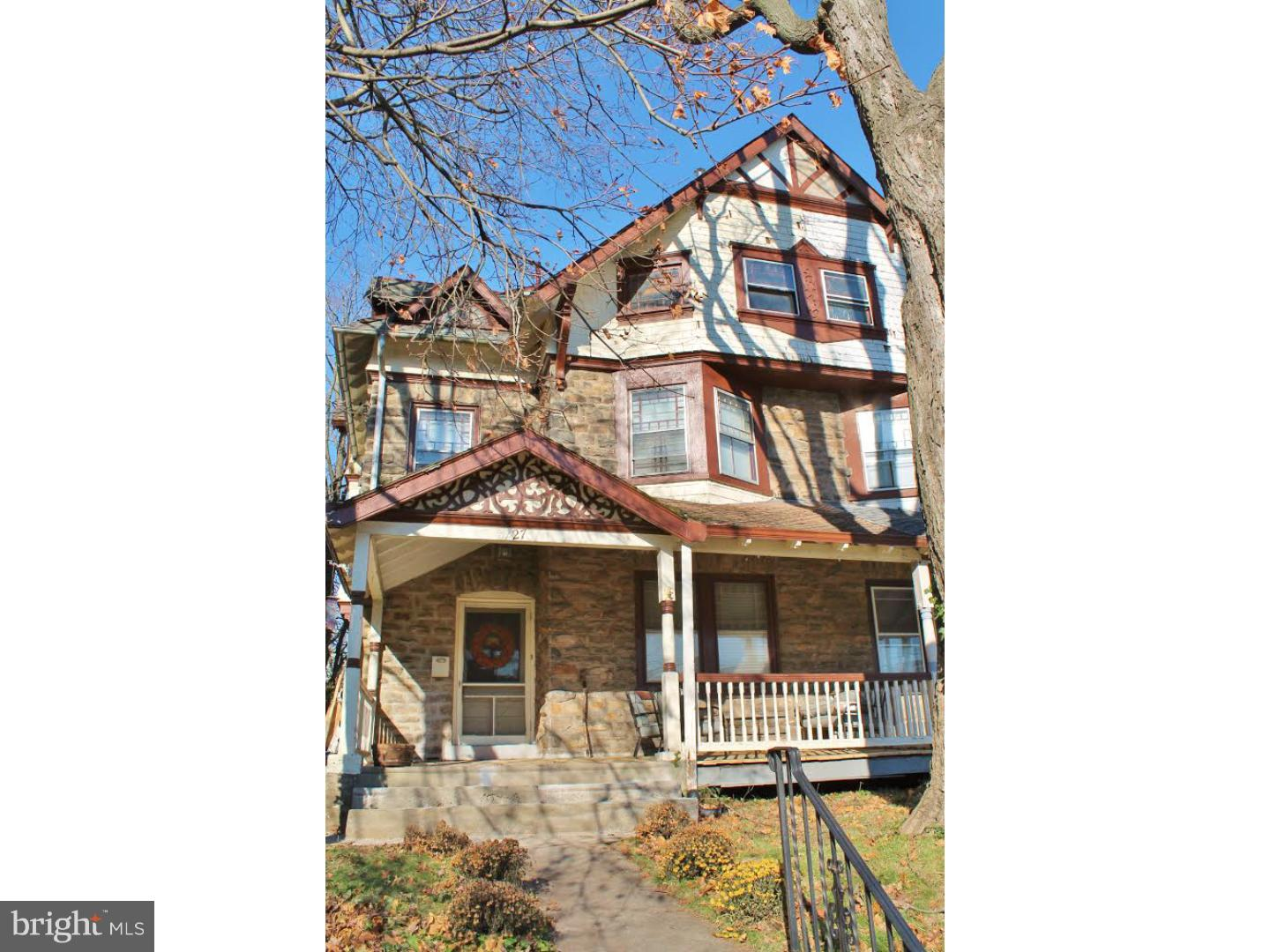 27 W Mount Pleasant Avenue Philadelphia , PA 19119