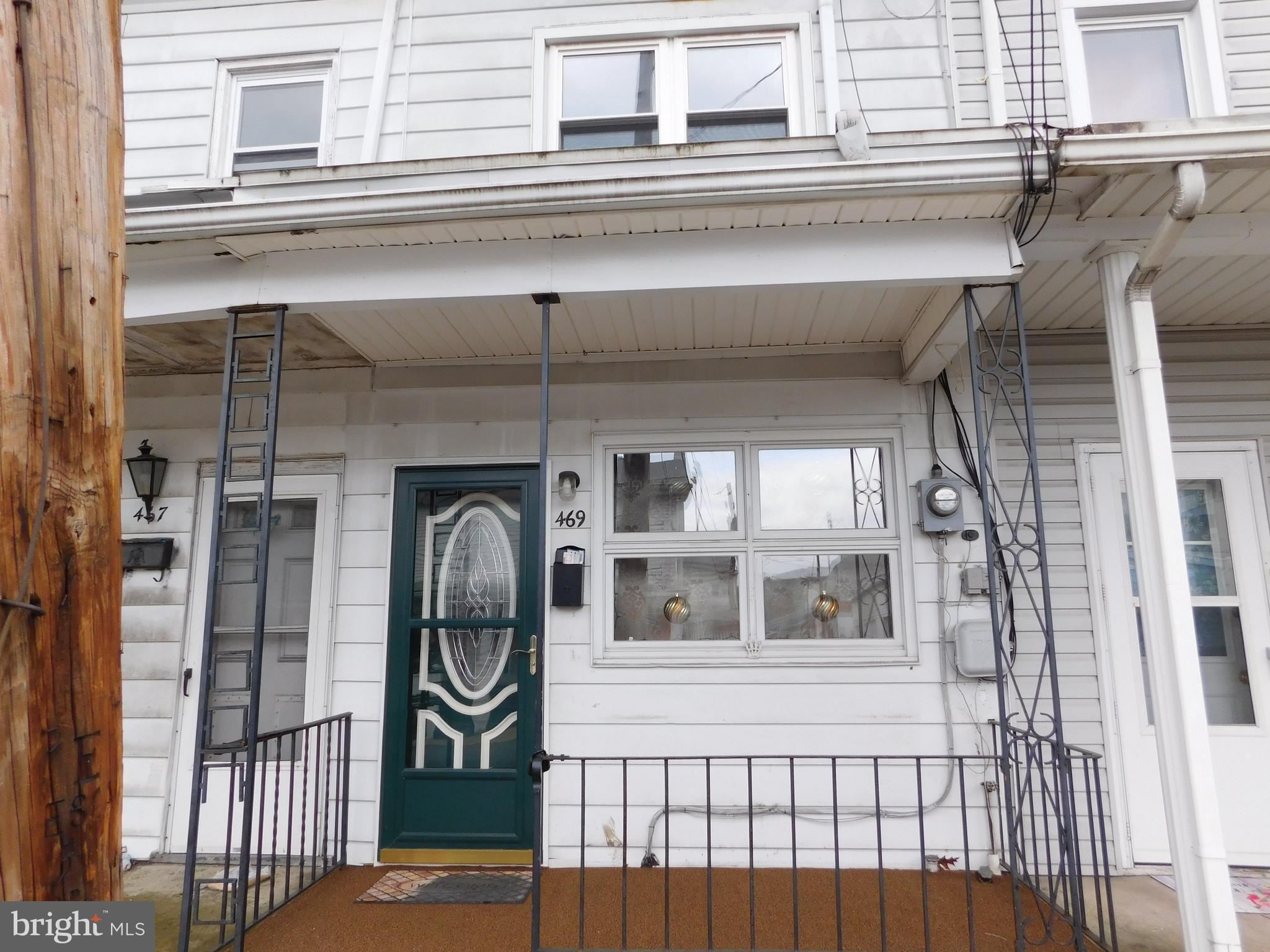 469 NORTH STREET, MINERSVILLE, PA 17954