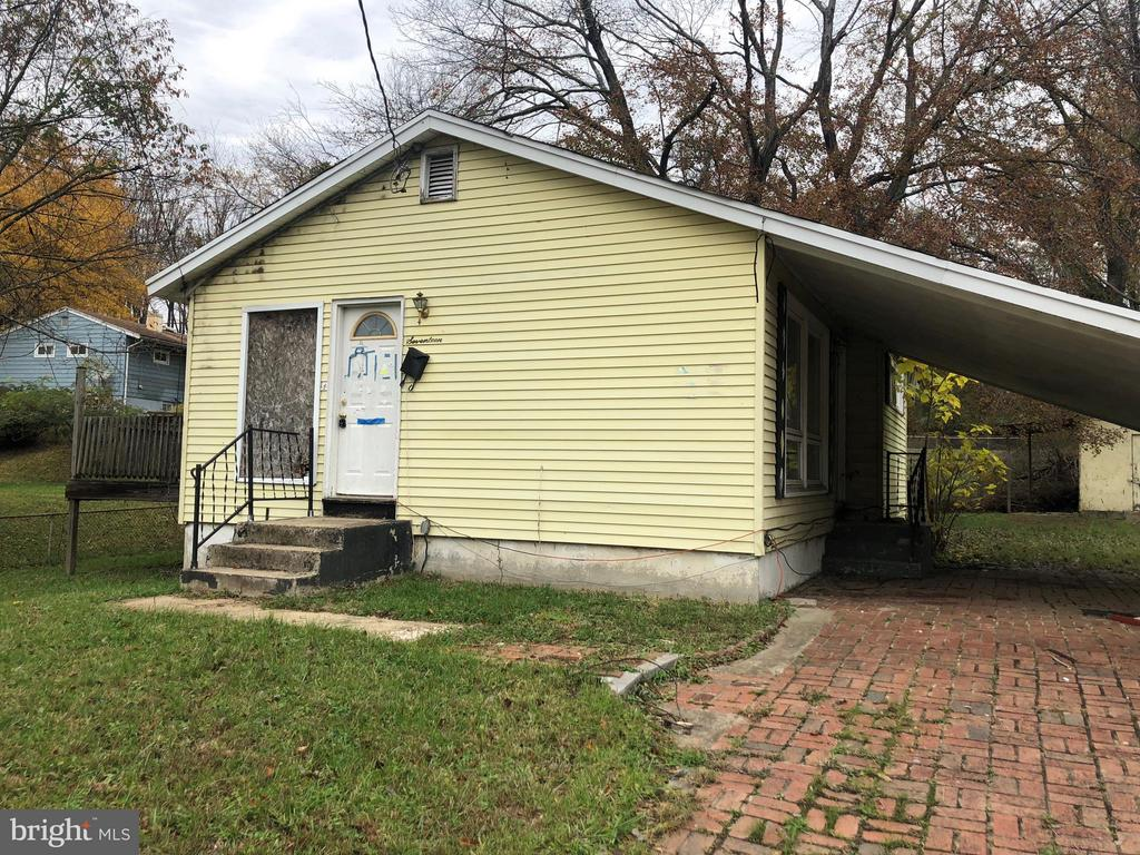 Rehab Ready!  This property is perfect for the seasoned rehabber.  Interior demolition is mostly complete.  This is a shell property with no working systems located on a level lot in booming Capitol Heights.