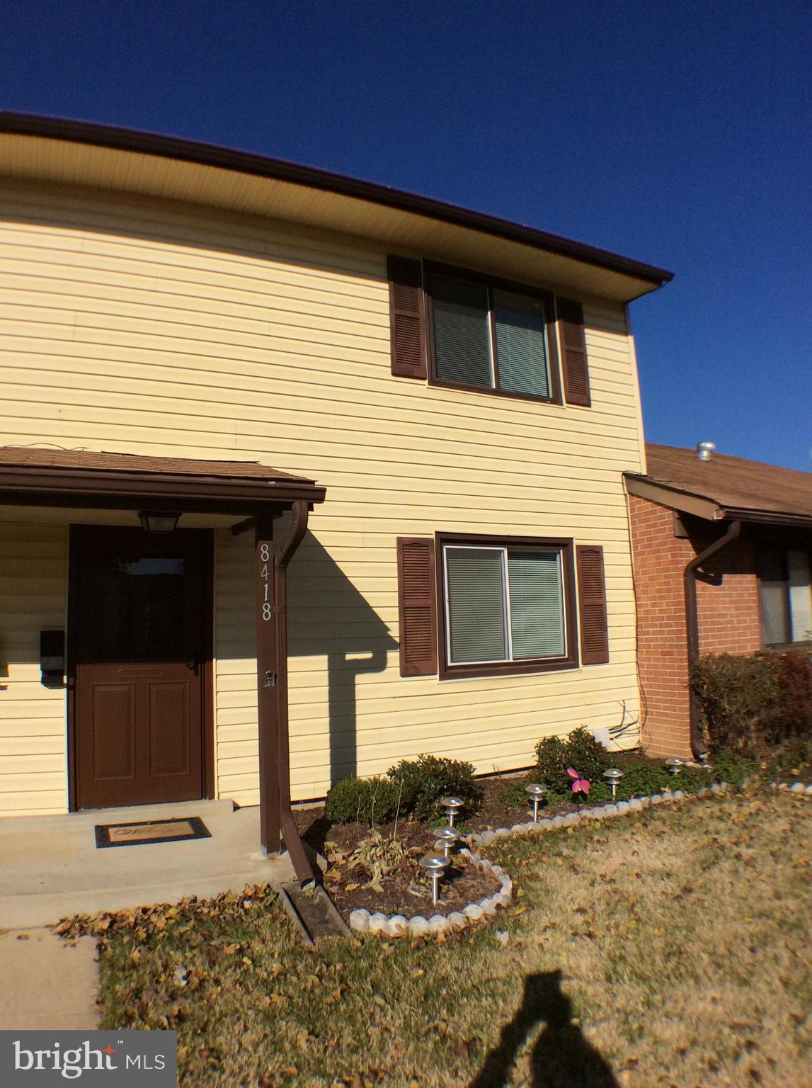 Rare opportunity and seldomly available !, Lovely well maintained townhouse condo in quiet Pinewood Lawns subdivision. Two level Redondo Model features three bedrooms, one full bathroom and 1 half bathroom, Recently redone kitchen to include Granite ,Cabinetry,Stainless Appliances. Both bathrooms were redone 2 years ago,Spacious living room with vinyl plank flooring leading to large eat-in kitchen. Glass door which opens to enclosed patio area and parking garage.  Adjacent to Ft Belvoir, Minutes to I95,495,FFX County Parkway,Richmond Hwy , Owner licensed Agent . No sign on property