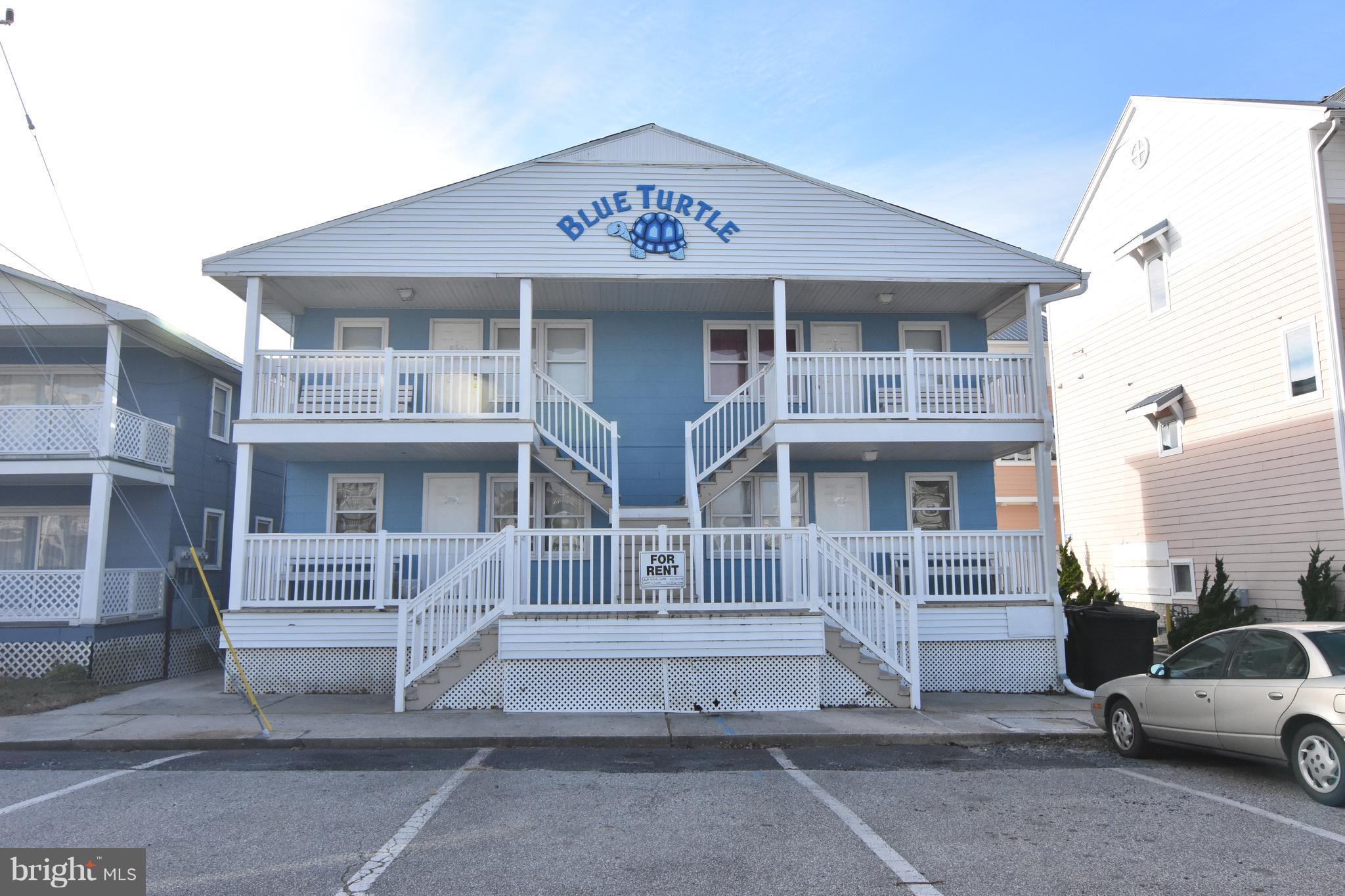 (Units 1-4 BLUE TURTLE BLDG) #15 57TH STREET, OCEAN CITY, MD 21842