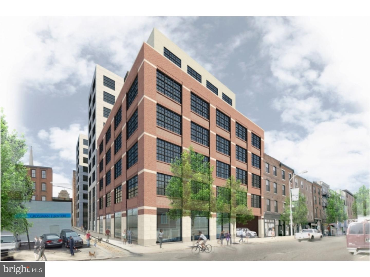 SUPER SIZED, and SUPER SUNNY 2 bedroom, 2 bath BRAND NEW apartment, at 218 ARCH STREET. AWESOME living and dining space. Custom kitchen with GRANITE counter tops, STAINLESS steel appliances, and BREAKFAST BAR. Fantastic and proportioned bedroom, great closet space, and stunning EUROPEAN style bathroom with GLASS shower door. 218 Arch is filled with amenities: ROOF top lounge,with glorious views of the BEN FRANKLIN bridge and Center City, PRIVATE resident courtyard, GYM, PELATON room, LOUNGE,with flat screen TVs, billiards, business center, and GARAGE parking for additional fee ! ! ! ONE MONTH FREE on a 13 month lease, and WAIVED application fees for a limited time! Photo's are of model unit.