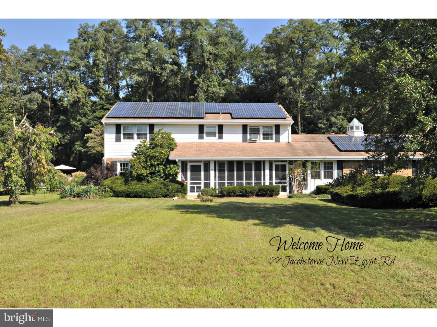 77 JACOBSTOWN NEW EGYPT ROAD, NORTH HANOVER TWP, NJ 08562