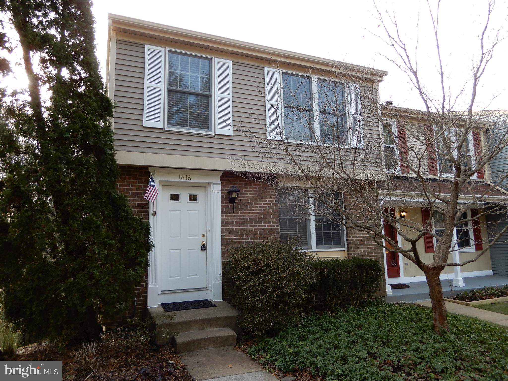 Bright and Cheerful & All Ready to Go for Jan 1 (or before) Occupancy! * Handsome End Townhouse loaded with Upgrades Through out * Fresh Paint, Beautiful Main Lvl Floors * Carpeted Lower Level Rec Rm * Cozy Wood Burning Fireplace & Brick Hearth * Walk Out to Fenced Back Yard * Backs to Forest! * Located Just North of Reston Town Center * Metro Coming Soon! * Dulles Airport Just Mins Away * Reston Town Center with All Her Stores/Shops/ Cool Eateries Just Mins Away! *