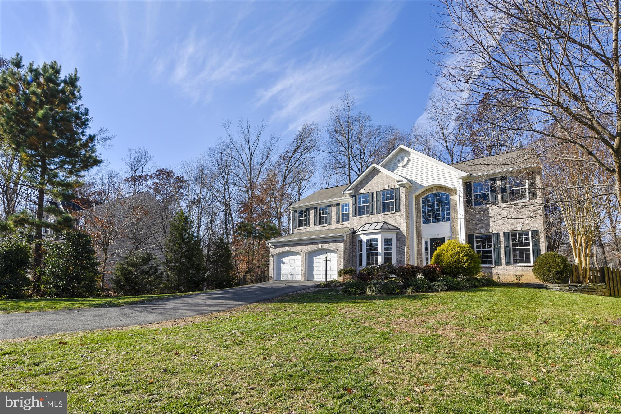 Value Opportunity - This lovely and warm 3-level colonial in desirable Saratoga Hunt has terrific curb appeal!  Built in 2005, with 4856 total square feet, this pretty home has it all.  The large front yard is bordered by trees and other lovely landscaping accentuated by a stone walk way to welcome you home.  A 2-car garage has ample parking for 2 cars and extra storage and an entry to the main level laundry room.  On the main floor you~ll find a combination of hardwood flooring, carpeting and ceramic tile throughout.  The Main level boasts giant great room, kitchen with breakfast room, formal living and dining rooms, and a study/office, completed by a single powder room.  Walk out the kitchen area to a spacious deck, with stairs down to a brick patio and rear lawn, bordered by trees and completely fenced in.  This is a pet friendly property that includes dog doors!  Carpeted upper level includes enormous master suite with separate sitting room, master bath with double sinks, large shower and separate spa tub, and walk-in closets.  You~ll find three other generously-sized bedrooms on this level, and the main hall bath also has double sinks.  The two-story foyer is overlooked from this level.The finished lower level includes a very large recreation room to hold all the toys, plus a large fitness room, and a 3rd full bathroom.  A large unfinished space with doors makes for great storage.Visit our virtual tour for additional photos, floor plans, dimensions and more.