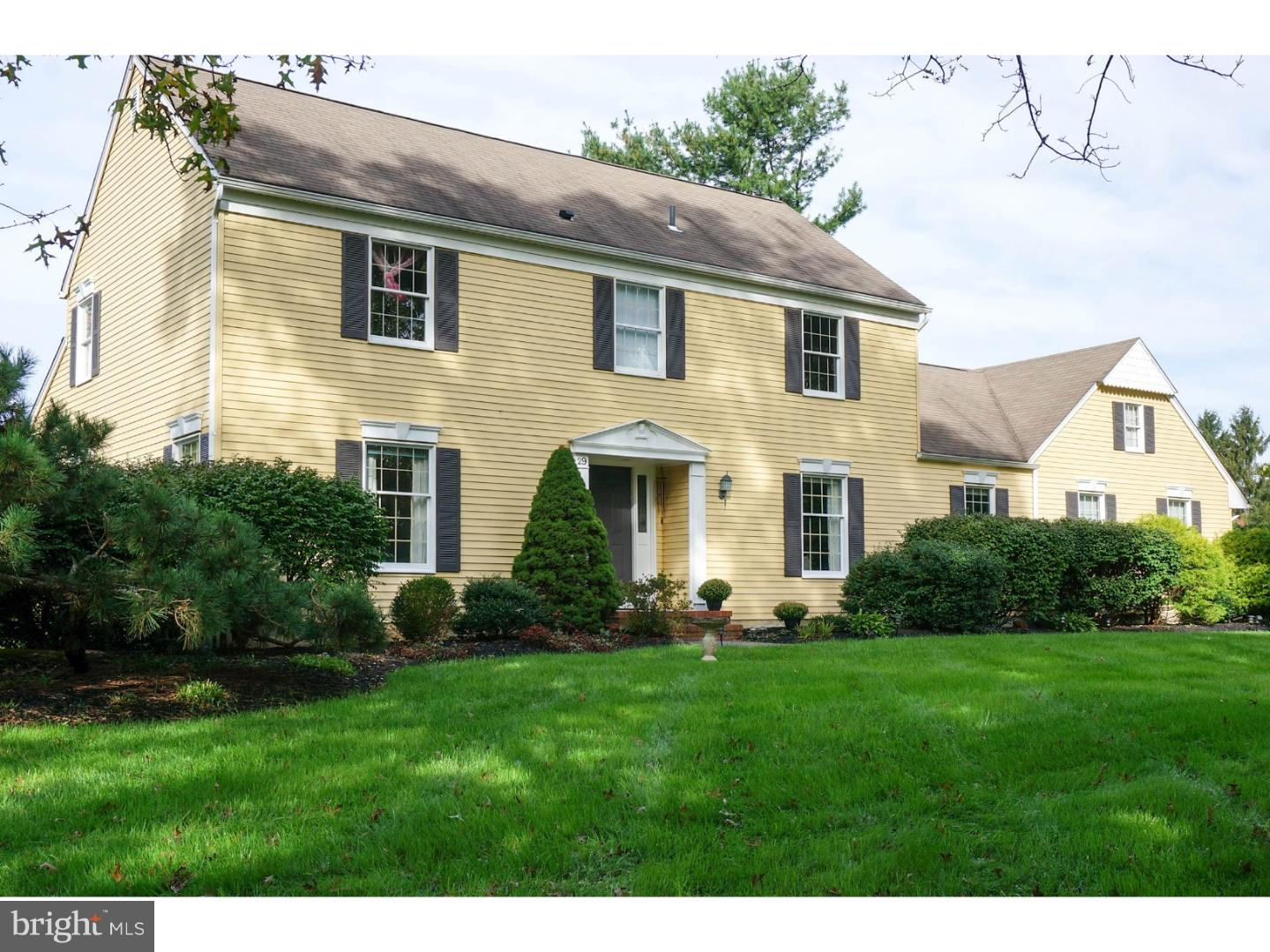 29 WASHINGTON DRIVE, CRANBURY, NJ 08512