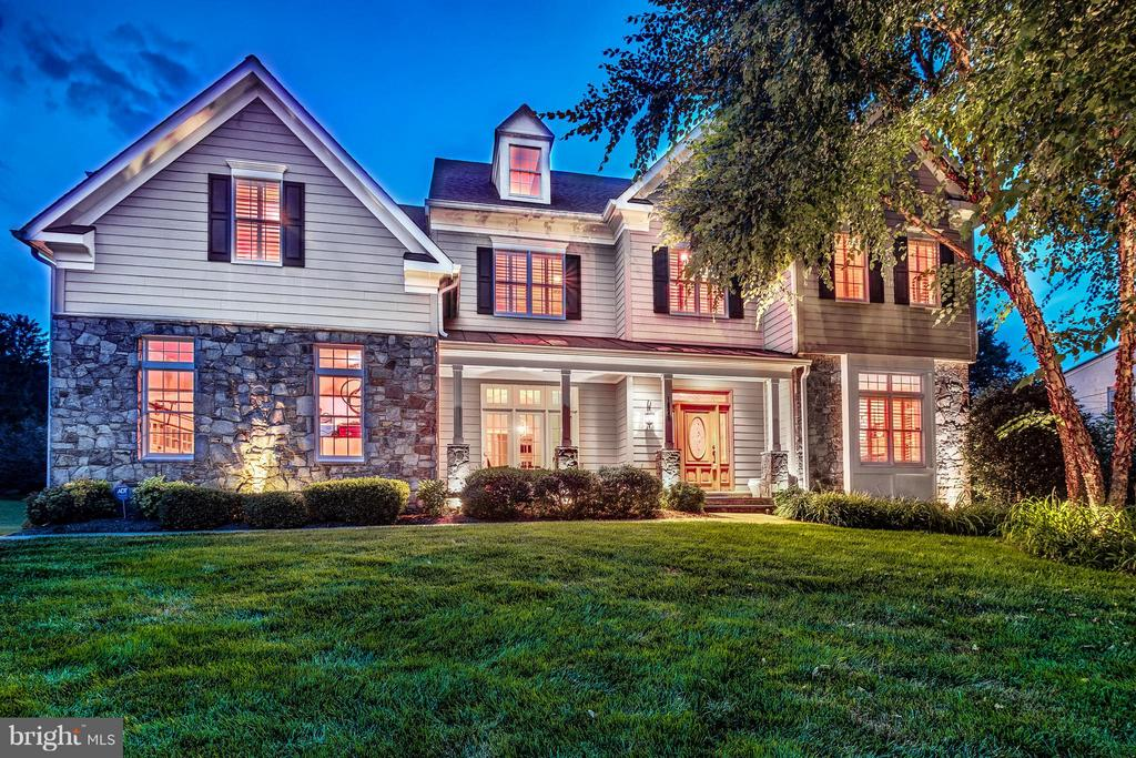 Stunning colonial in Chesterbrook Estates w/ expansive open floor plan offering incredible flow for entertaining or relaxing. FR w/ coffered ceiling opens to breakfast area & chef's kitchen. Office w/ built-ins, LR w/ FP. Master suite w/ sitting area, FP, spa bath, WIC,& dressing room. LL rec room walks up to fenced in yard. pergola & slate patio. Minutes to downtown McLean, short commute to DC