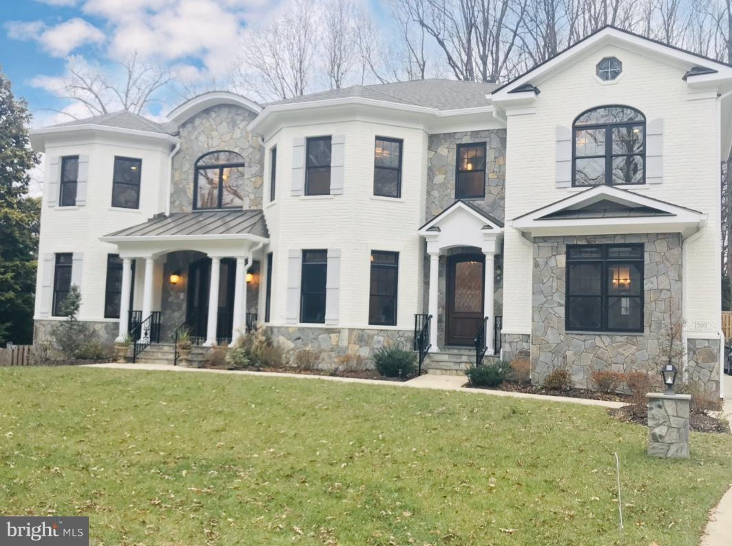 Newly constructed in 2016, this 6BR, 8BA custom home offers luxurious amenities in prime neighborhood close to D.C.! Open floor plan, rich hdwd flooring, gourmet kitchen w/ granite, top appliances, Owner~s suite oasis w/ gorgeous bath, office or main lvl BR, 2 staircases. Daylight LL is entertaining dream: posh cinema, expansive wet bar, rec and game areas. TENANT OCCUPIED. DO NOT DISTURB TENANTS.