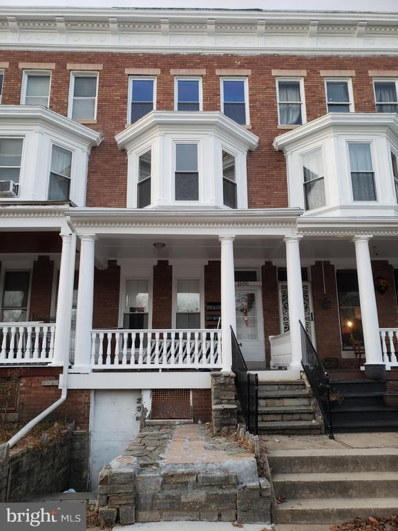 Large 2 bedroom unit in this recently remodeled row home.  Walking distance to Mondawmin mall, metro station, and Baltimore zoo.  Great location for commuters! Each level is a separate unit with two entrances each.  3 units available on a first-come basis.  Set up a tour today!