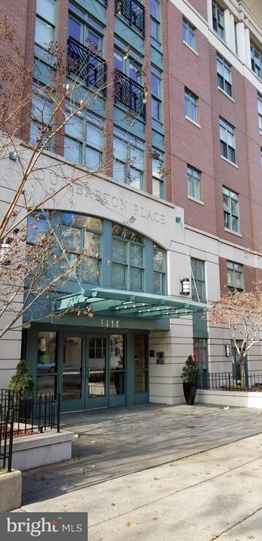 Centrally located in Dupont Circle with easy access to Gekorgetowne and Downtown.  Stunning upgraded 2 bedroom, 2 full bathrooms with 2  underground secured garage  parking spaces with a 22 foot long by 3 foot deep storage bin. All utilities included except electric.   Secured building with desk attendant  in lobby and security cameras  Building is across the street from Rock Creek  Park .Ceramic tile foyer with hardwood floors throughout.  Gourmet kitchen:  Sub-zero refrigerator, gas Viking stove, Bosch dishwasher.   Marble  flooring in the bathrooms.  Fitness center and  meeting room.  Rooftop terrace with large grill with panoramic view of Georgetown and D.C.   West end of DuPont Circle.   non-refundable  $250.00  1  time move in fee plus $500.00 refundable damage fee. Disability access.