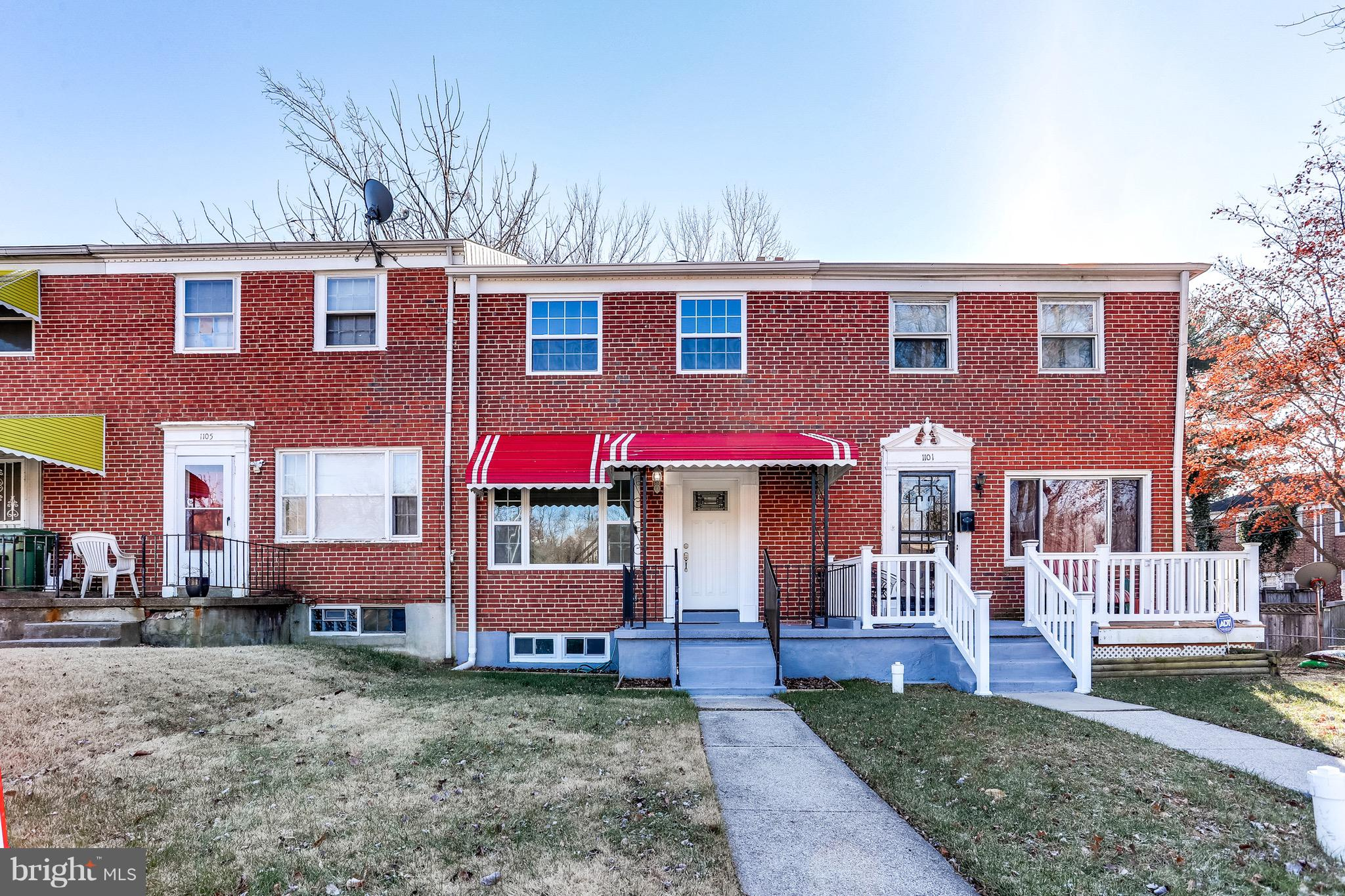 1103 E NORTHERN PARKWAY, BALTIMORE, MD 21239