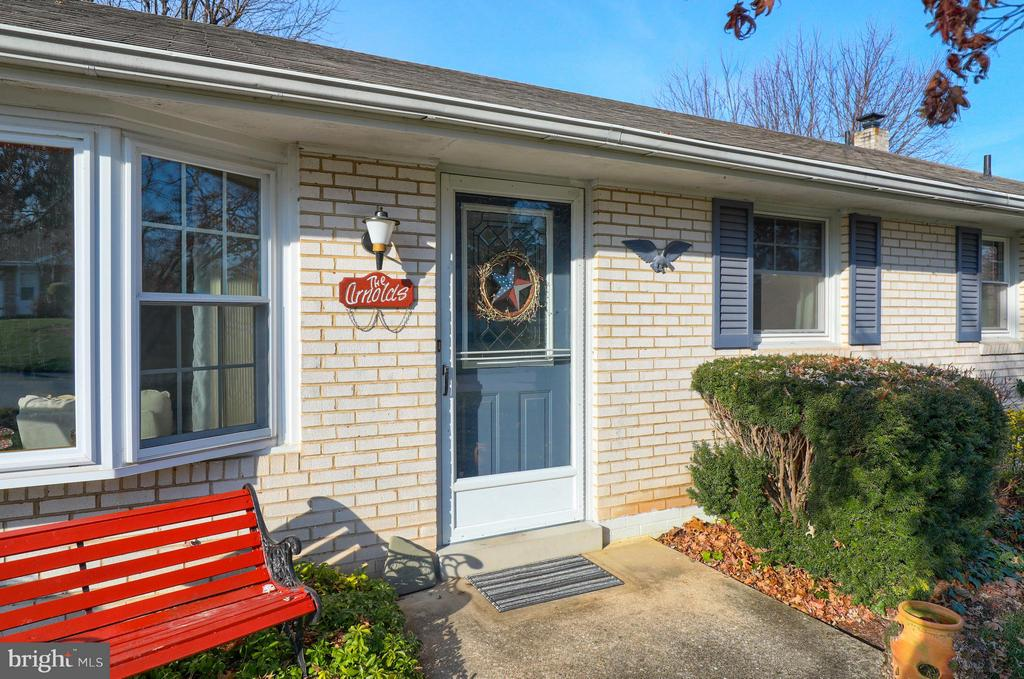 Open House Sunday December 16th  1-2:30 pm*Spacious 4 bedroom, 1.5 bath brick rancher. Oversized 2 car garage. Gas heat. Kitchen/Dining Area: tile back splash. Replacement windows and enclosed porch. Basement Family Room with brick fireplace. Utility Shed. Living Room Bay Window. Level rear yard.
