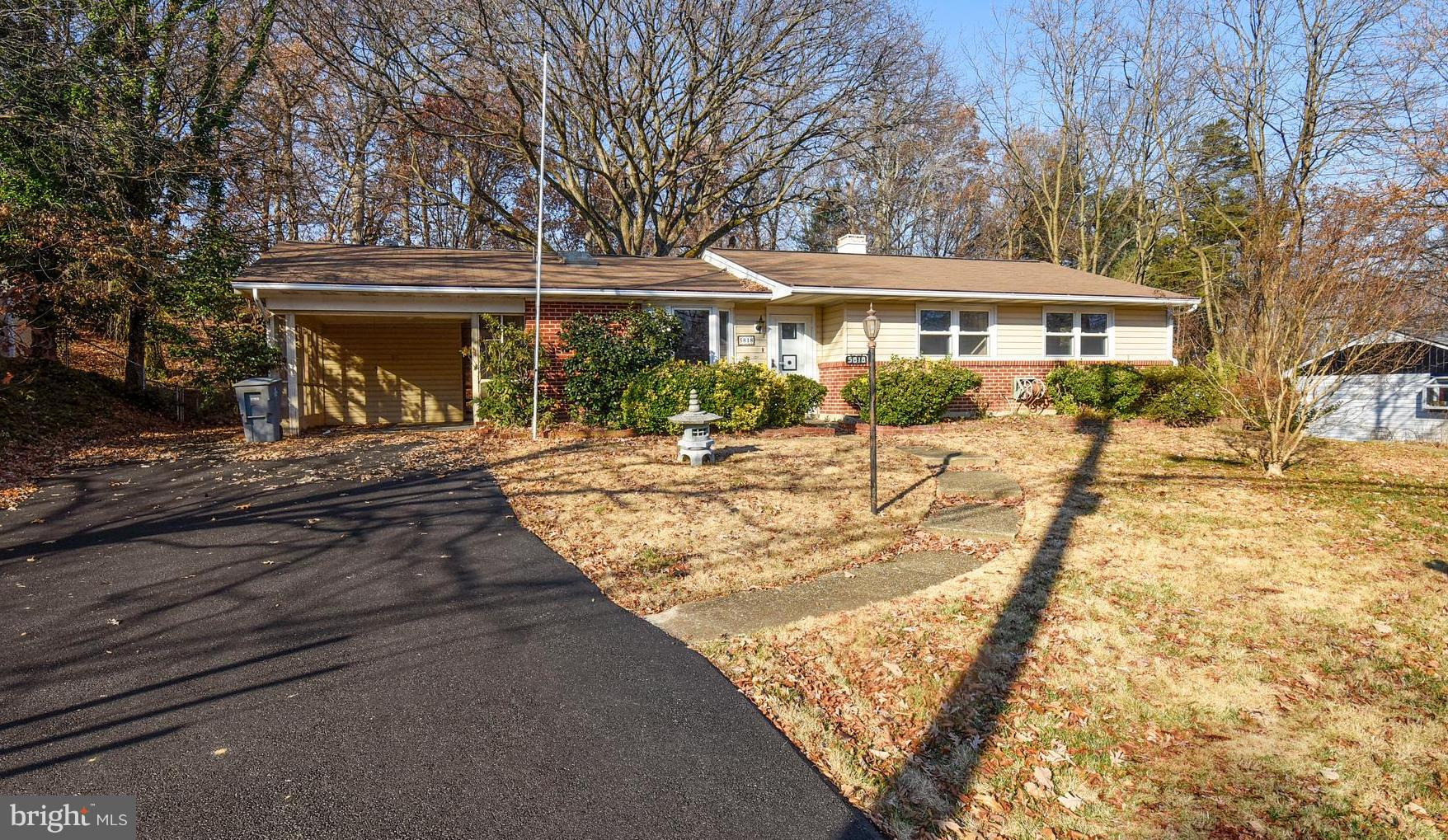 BELOW MARKET SWEAT EQUITY OPPORTUNITY.... Structure is sound and many systems newer, just very dated..... live here while you remodel....estimated  $75,000 below after repair value..... BIG TICKET ITEMS COVERED - HVAC approx 2011, Water heater fall 2018, Roof estimated 6 years, driveway resealed this fall....Huge family room addition with a gas stove....skylight in the living room and kitchen...Screened porch off the family room.... Lots of storage - closet in the carport, closet in the screened porch and workshop/shed with electric service in the rear....Carport with direct entry into the kitchen....Ceiling fans in each bedroom...full bath in the master....pull down stairs to the attic in the hall and another in the carport.... Terrific chance to get into a great neighborhood at a bargain price.