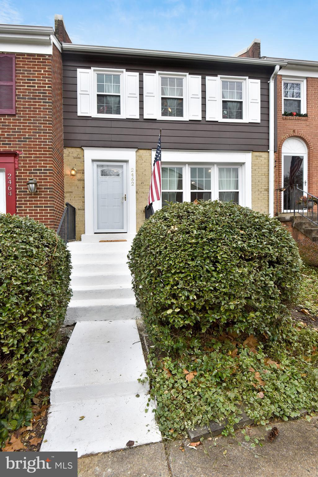 Open House Saturday 12/15 2 pm - 4 pm.  Sunday 12/16 1 pm - 4 pm!  An outstanding find so close to Alexandria. This 3 Bed, 3.5 Bath townhouse at a great price and great location.  A townhouse that is close to everything!  Updated throughout, Roof in 2011, Windows in 2015, Water Heater in 2017, Front Door, Granite, and Kitchen flooring just recently. The lower level could be used as a suite with it's full bath and Refrigerator.  Cherry and Fig tree in the backyard along with a jasmine vine complement the indoor space with a serene outdoor patio. Come see soon!