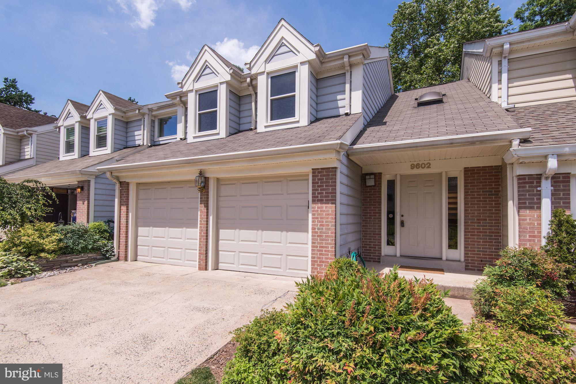 EXTRAORDINARILY SPACIOUS LUXURIOUS 4 BR 3.5 BA TOWNHOUSE LOCATED NEAR PUBLIC TRANSPORTATION & MAJOR ROADS. TREX DECK (2017), HARDWOOD FLOORS, WALKOUT BASEMENT, GRANITE COUNTERS, STAINLESS STEEL APPLIANCES, GRANITE FLOORS IN FOYER, KITCHEN, DECORATED SEE THROUGH FIREPLACE IN DINING & LIVING ROOM, SKYLIGHT, UPDATED KITCHEN & BATHS, BACK TO TREES, AVAILABLE 2/1/19