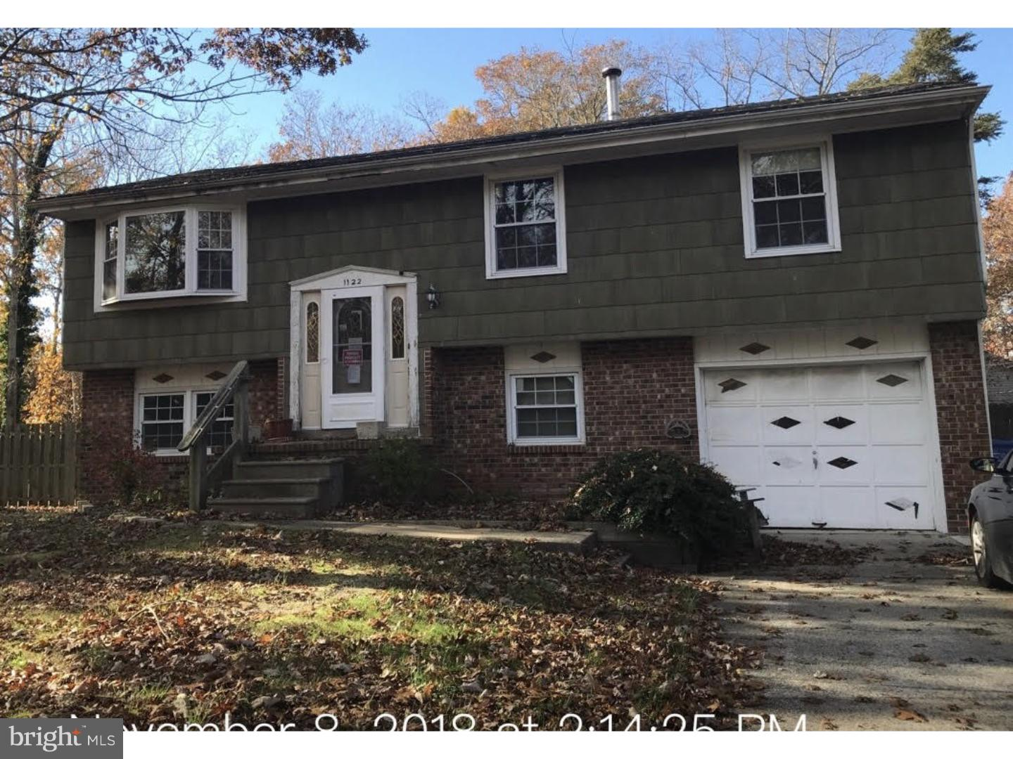 1122 STAGECOACH ROAD, OCEAN VIEW, NJ 08230
