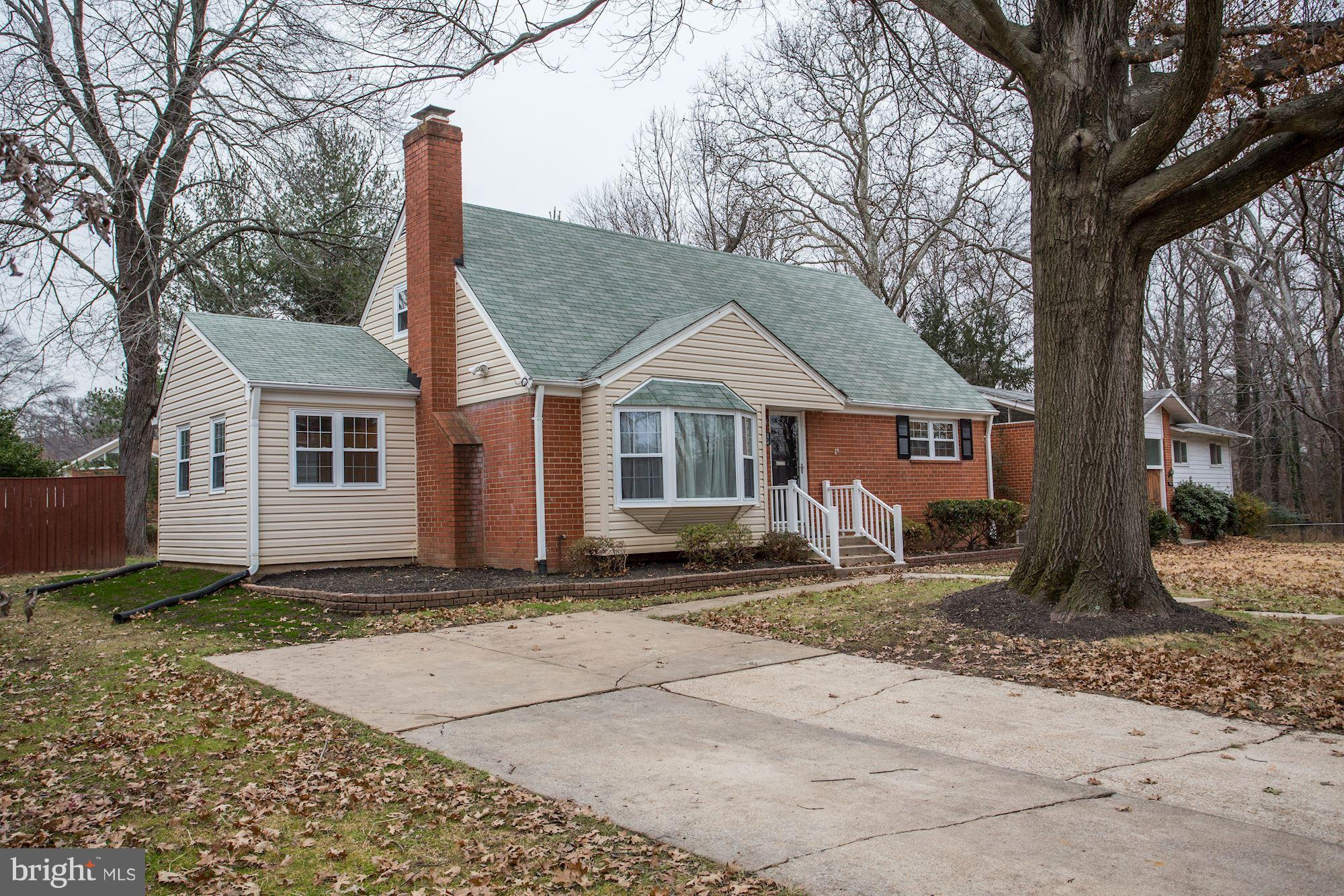 Largest 4BR 2BA Cape Cod in sought-after Seminary Valley! Refinished oak hardwoods, new bathroom vanities, updated windows, fixtures and finishes. Main level boasts a light and bright LR with wood-burning fireplace, bonus family room, 2 bedrooms w/ bath and huge 17 x 11 eat-in kitchen. 2 more bedrooms w/ bath on upper level and tremendous walk out basement ready for your customization! Spacious level lot, deck and driveway parking. Next to park/bike trail and just minutes to shops, schools and major transportation.