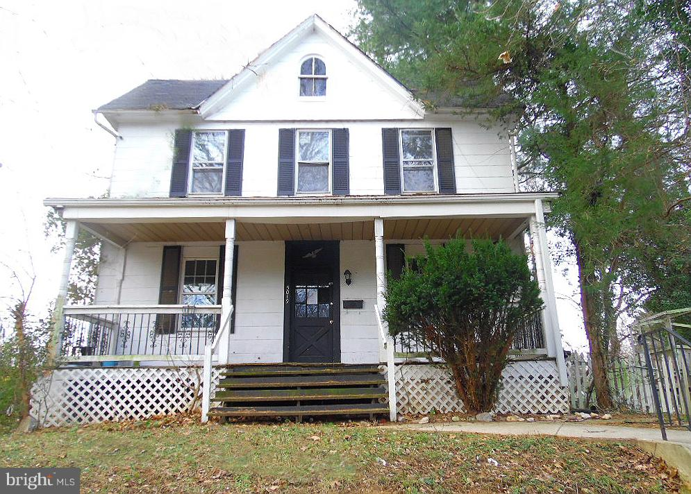 Check out this value priced home seated in spacious lot in Beechfield community. Enjoy spacious room sizes, wood & carpet floors, enclosed porch and separated dining room. The basement can be used as added storage or finish off as additional living space. A convenient location, just blocks from the park and easy access to I-695.