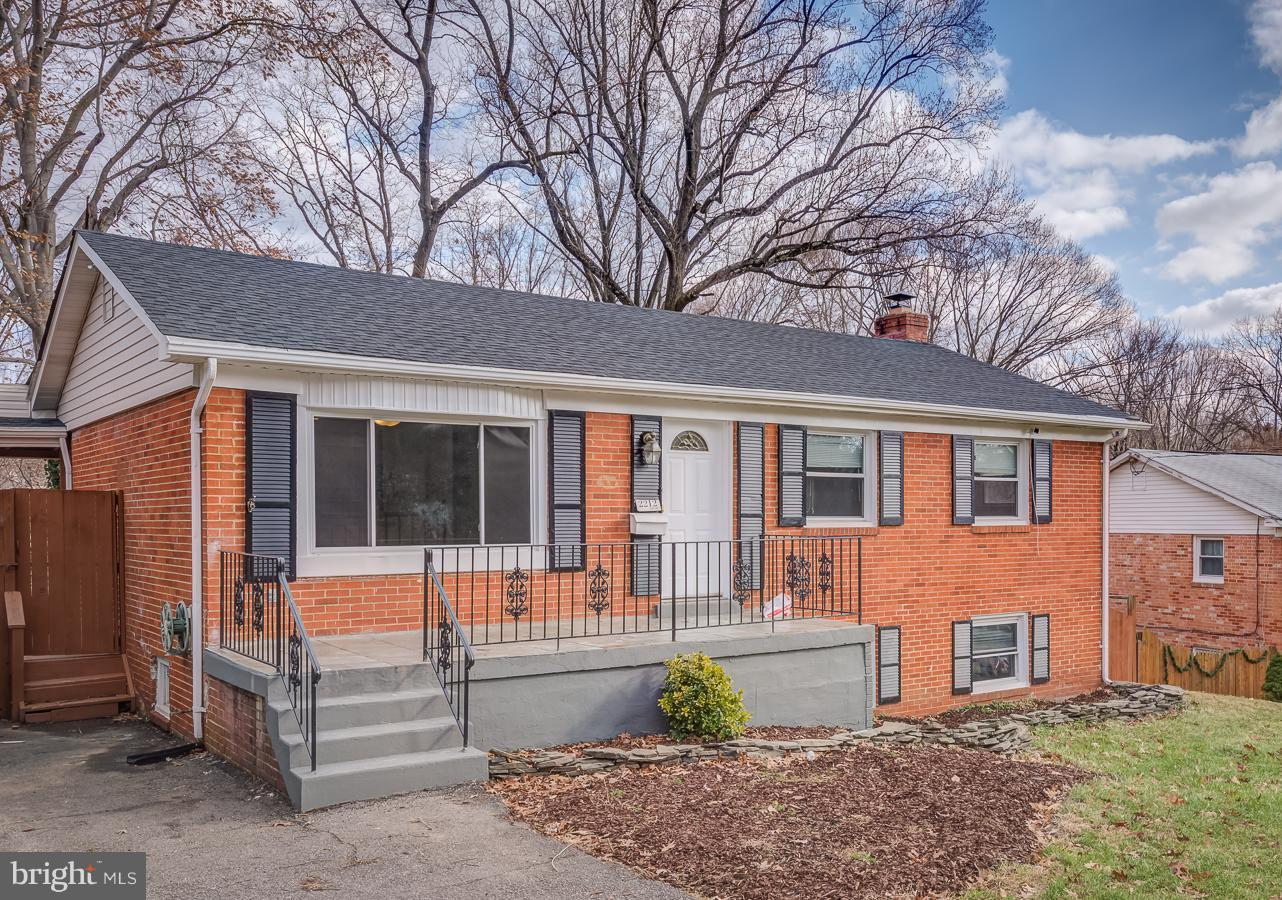"""Two fully finished levels! Main floor kitchen features 42"""" cabinets. Roof replaced in 2018! Fresh paint throughout the house, new  carpet, HVAC couple years old, windows a few years old. Gorgeous oversize deck, walk out level basement with rear entrance door leading to nice patio!  Big private  wooded lot. Open House on 1/12/2019 from 1-3pm"""