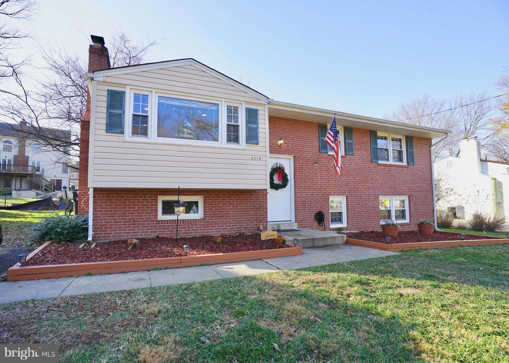 Beautifully remodeled 2 level home in Fairfax City! Only $3100/month! Open layout, filled with natural light. Kitchen and all bathrooms have been completely updated. Hardwood floors throughout. Full size washer/dryer. Large storage room and plenty of closet space throughout. 2 wood burning fireplaces. Basement level media room. Plenty of street parking along with the attached driveway. 4 bedrooms, 3 full bathrooms & XL backyard PRIME location - quick walk to George Mason University, Old Town Fairfax, public transportation. Commuter's dream!Perfect for multiple GMU students / young professionals to sharePet friendly