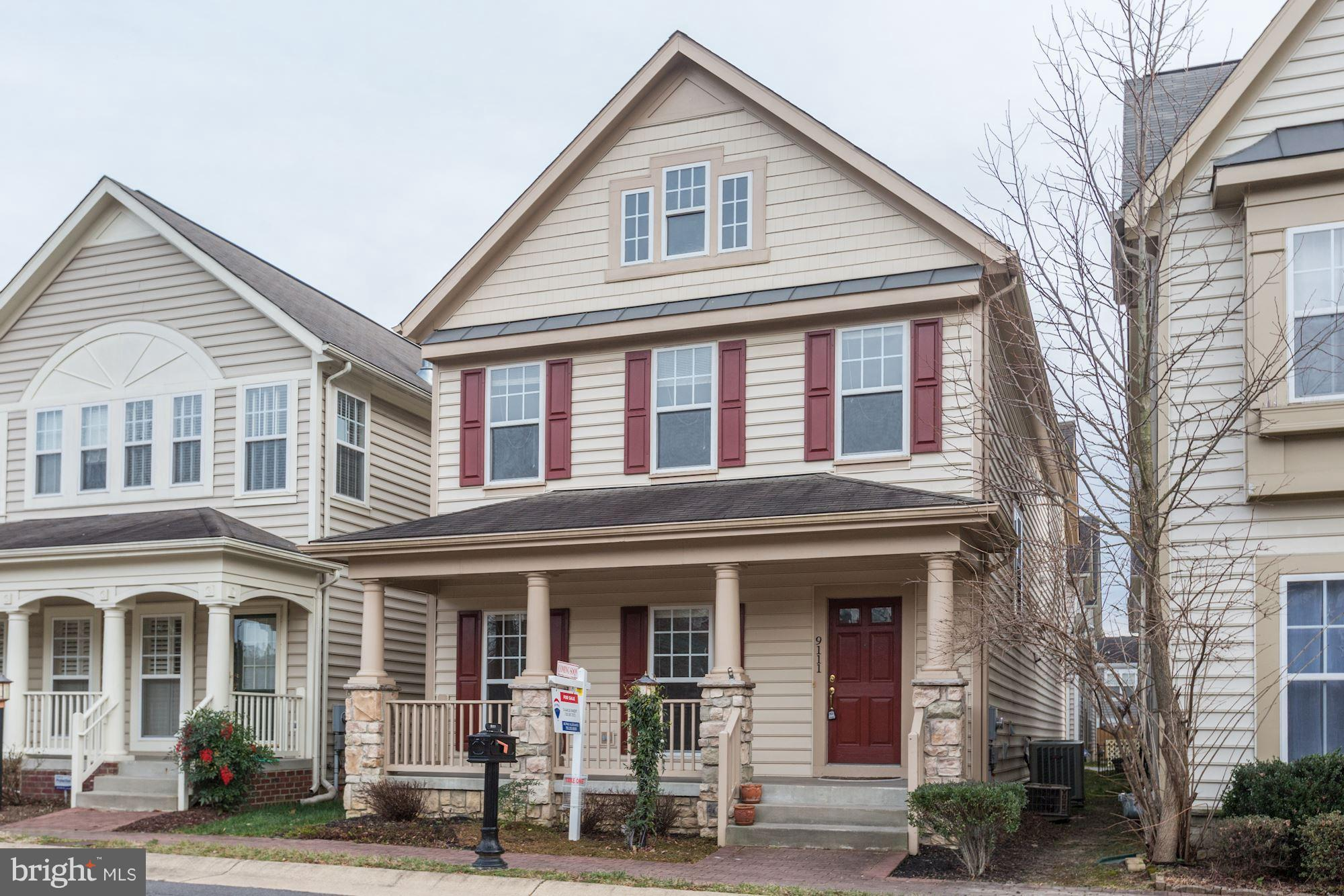 Move-In Ready 3 Bedroom, 3.5 Bath Colonial Home in  Lorton Town Center Landby! Floor Plan Features: Separate Living / Dining Rooms, Upgraded Eat-In Kitchen, Luxurious Master Bedroom with En-Suite Bath, Fully Finished Lower Level with Optional 4th Bedroom and Full Bath. Upgrades Include: Fresh Paint Through-Out, New Carpet, Hardwood Floors, Stainless Steel Appliances, Fireplace and More! Premier Community Amenities: Walk Across Street to Pool, Fantastic Location: Near VRE Train Stop, Shopping, Dining and Major Commuter Routes! - Rental also Available.