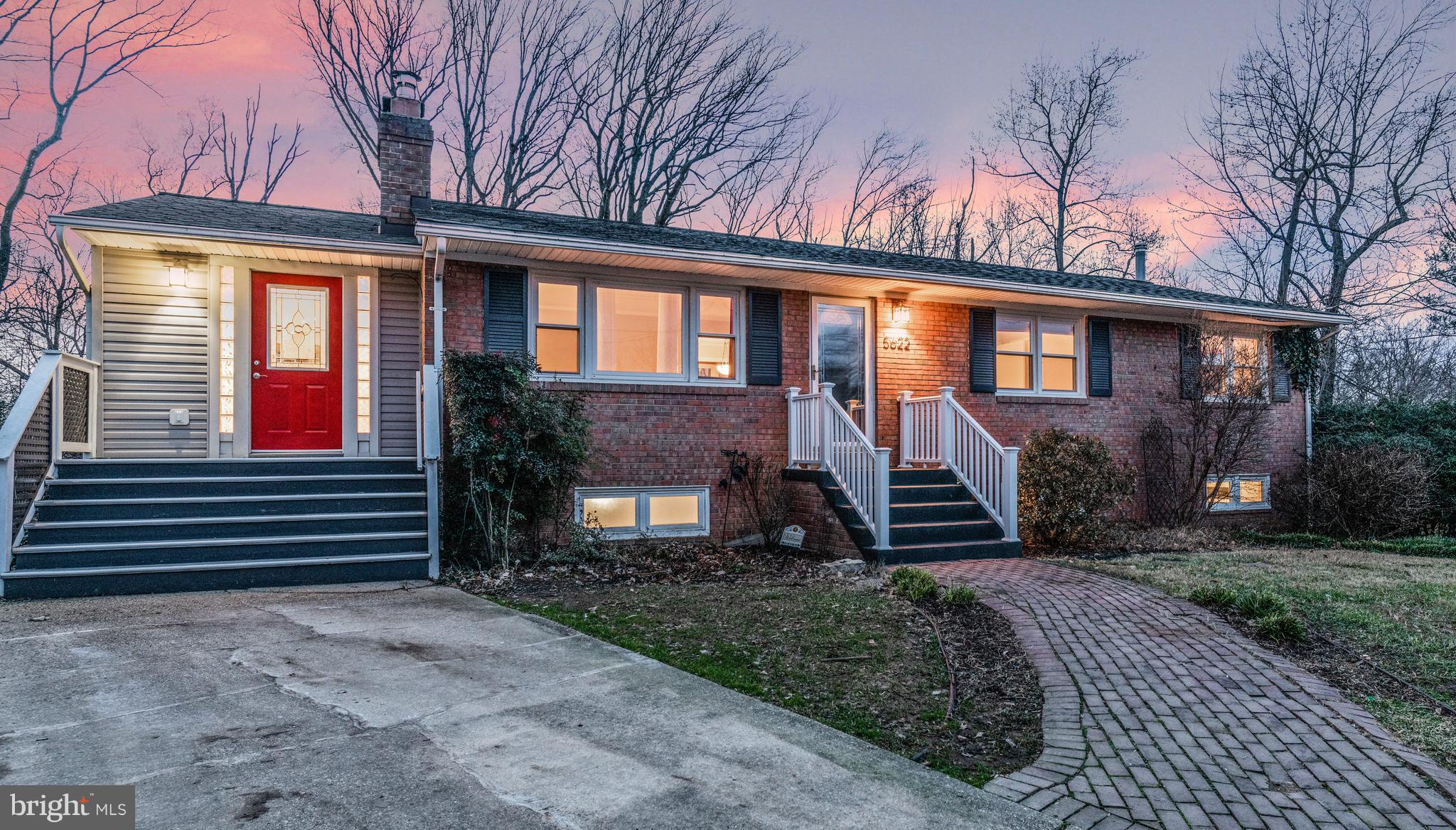 OFFER DEADLINE: TUESDAY JANUARY 15TH AT 3PM. Incredible 4BD/3BA single family home on cul-de-sac. Enlarged Master Bedroom and Kitchen. Bright formal Living Room with gas fireplace. Spacious Dining Room with bay window. Hardwood floors. Updated baths. Gourmet kitchen with stainless steal and gas cooking. Skylights. Huge Basement Rec Room with brick fireplace and walk-out to large patio with fire-pit, extensive privacy, landscaping, hot tub, and pond. Large lot in prime location near metro, bus, schools and Beltway!