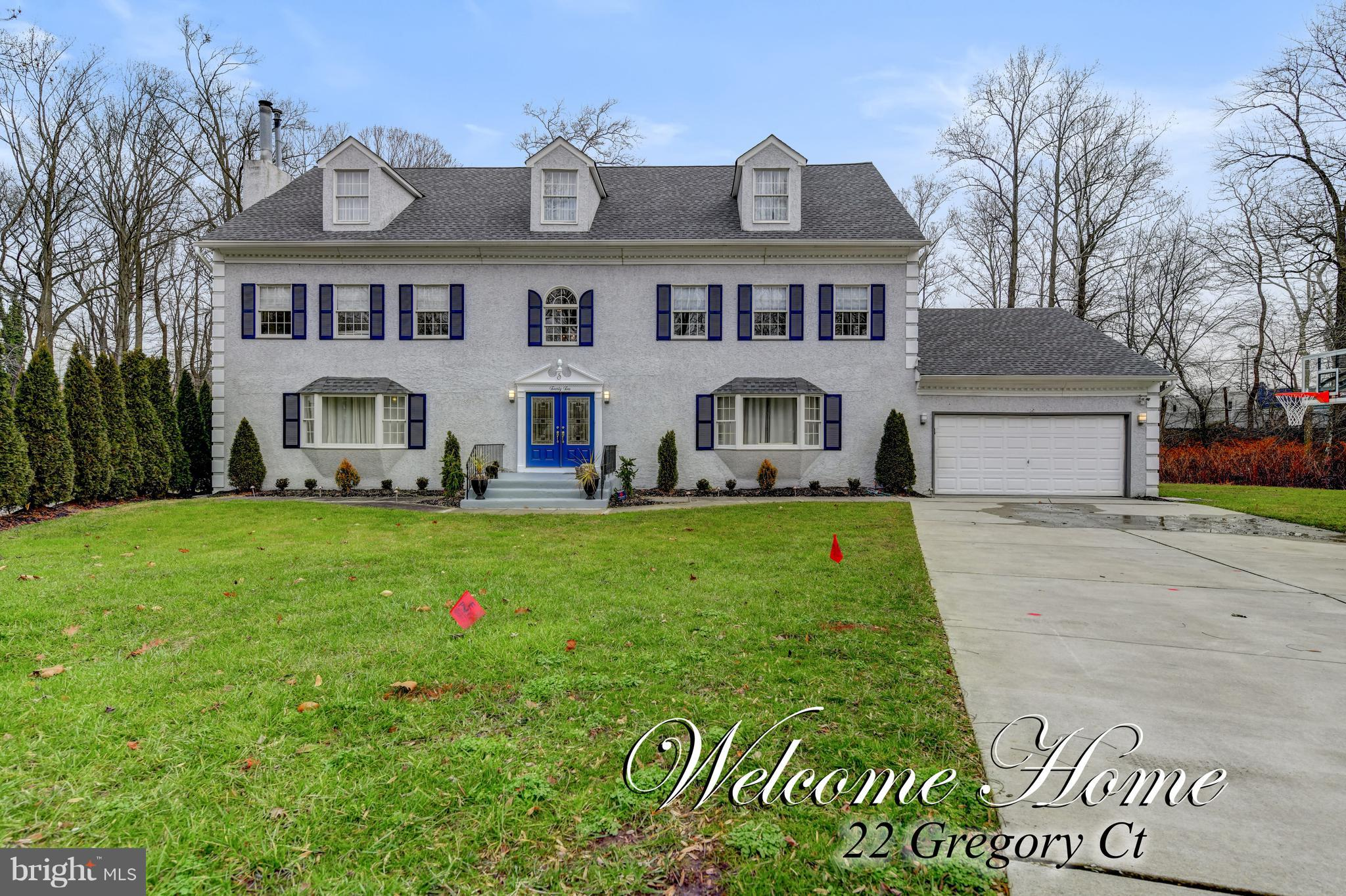 22 GREGORY COURT, CHERRY HILL, NJ 08034