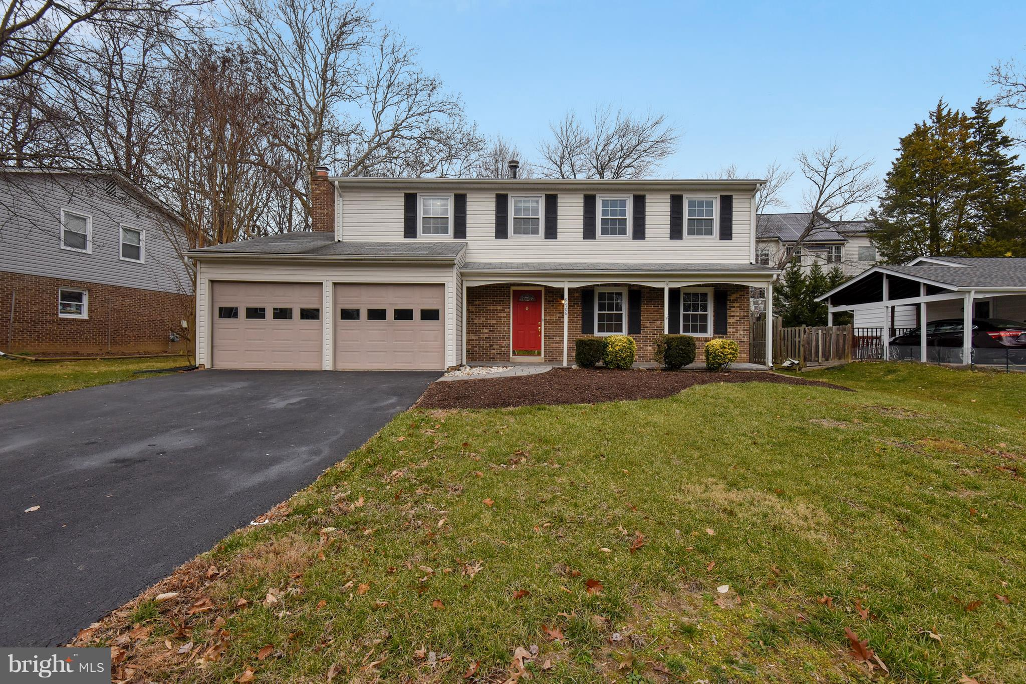 Move -in ready! 4BR/2.5BA Colonial. In outstanding condition, with 2 car garage.  Many upgrades. Basement totally remodeled, wood burning fireplace in the family room.
