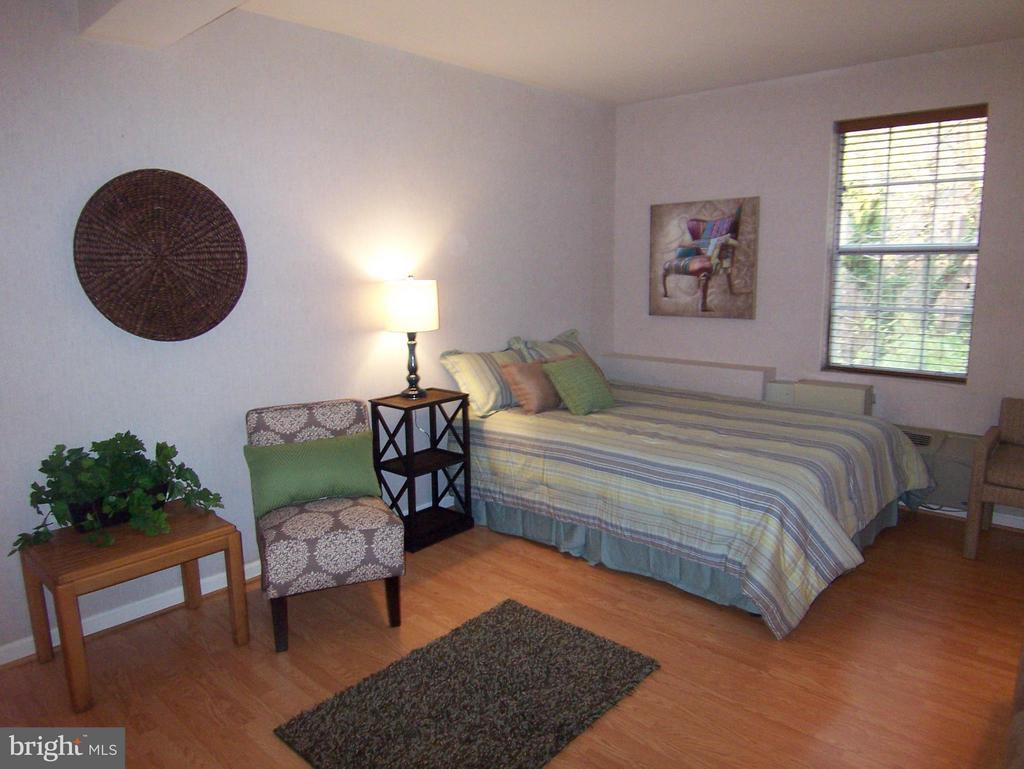 ***FURNISHED LARGE STUDIO*** TWO BLOCKS FROM COURTHOUSE METRO.  RECENTLY REMODELED w/NEW appliances, counters & sink, floors, lights bath, paint, etc. Separate dressing area and 4 closets, 2 are walk-in. Utilities Included. GREAT LOCATION !  $1600 1ST MO RENT + $45 Processing fee to L&F w/NVAR application please. $2000 SD collected later at lease signing once approved.