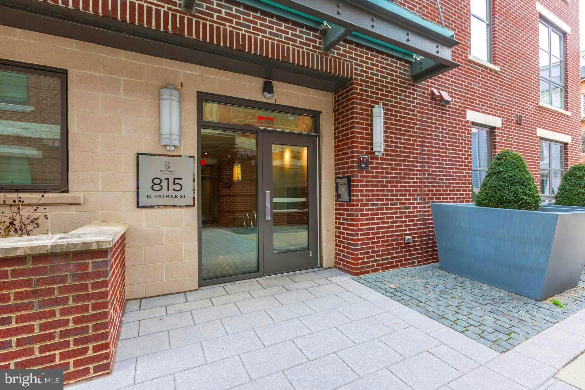Experience great living at the award-winning Old Town Commons neighborhood by EYA. 1 BR w/Den, garage parking and extra storage.  Old Town Commons is a LEED certified building for maximum energy efficiency and eco friendly living.  This unit boast open floor plan w/9' ceilings and hardwood floors throughout.  Floor-to-ceiling windows allow maximum natural light.   Gourmet kitchen include EnergyStar appliances, under-mount cabinet lights, large center island & granite counters.  Old Town Commons is a 5-city-block redevelopment in the historic Parker Gray District of Old Town Alexandria. The community is within walking distance to the Braddock Metro station, the Potomac River, and Harris Teeter.  The building gets discount at Charles Houston recreation Center located at 901 Wythe St.  The Charles Houston Recreation Center is a family recreation center offering a wide variety of activities and classes throughout the year including swimming, weight lifting, cardio, basketball, boxing, fun family and community events.