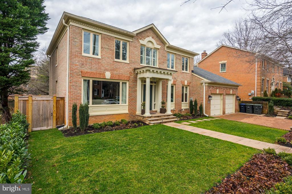 FINAL days on the market.  Beautiful updated colonial style house in desirable Forest Hills.  This home has been completely renovated, with new kitchen, 4 new bathrooms, all new backyard and front yard landscaping including paver driveway and retaining walls.  Near Van Ness Metro