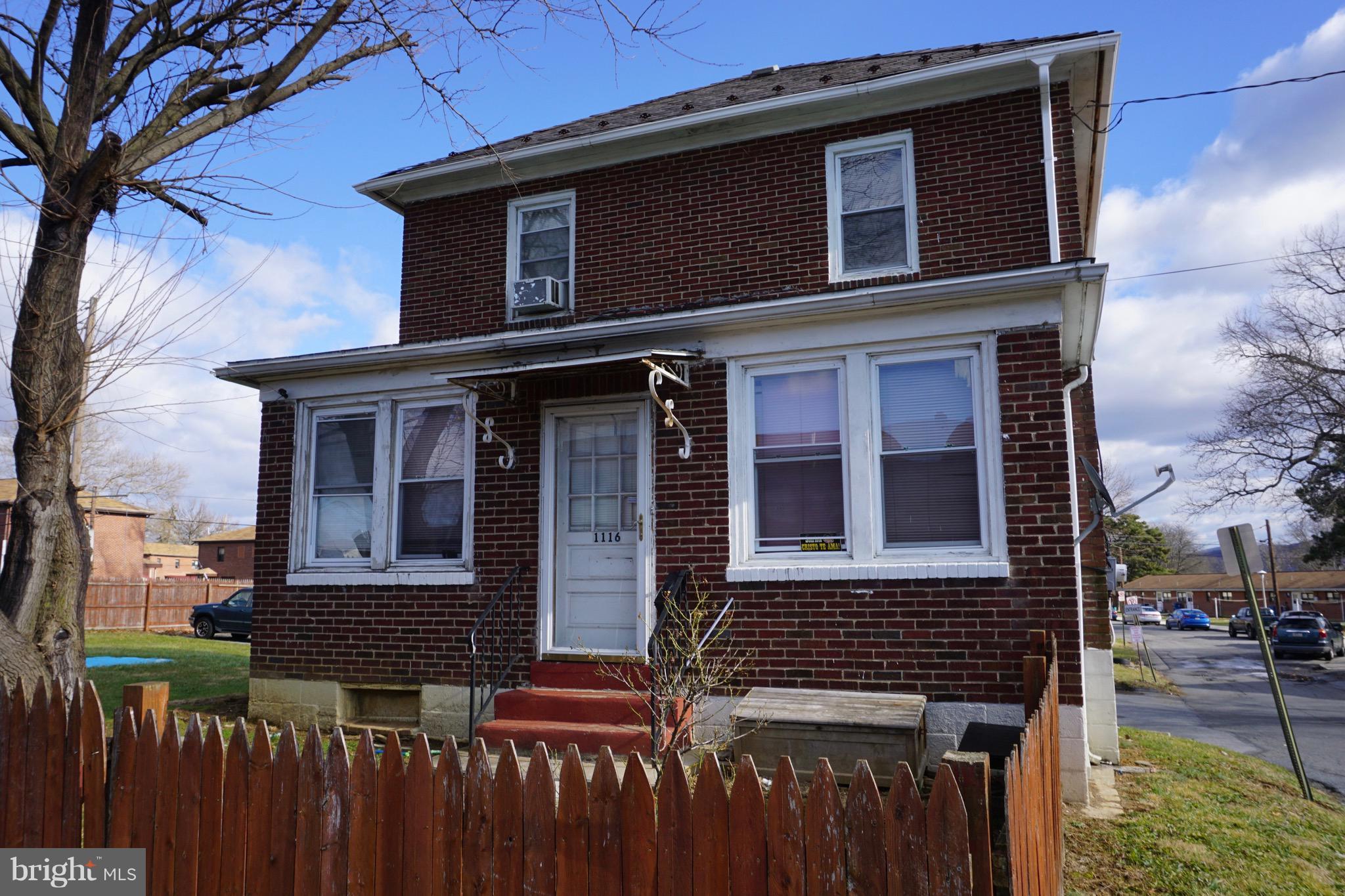 1116 MARVINE STREET, BETHLEHEM, PA 18017