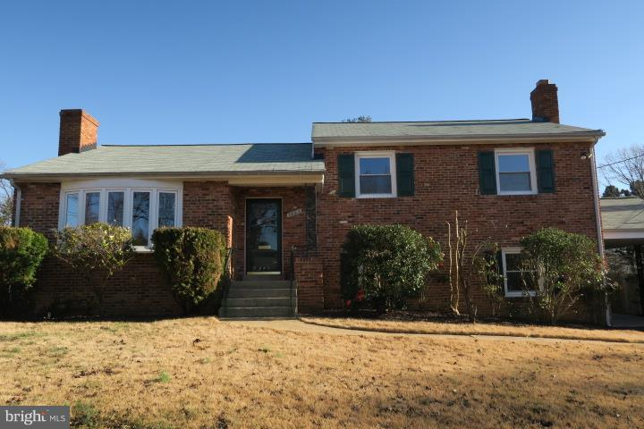 Don't miss this one! 1st time on the market in ~44 years    This is a solid all brick  4 level home that is conveniently located in the City, close to Old Town, Del Ray, National Landing, and everything DC has to offer. This charming 4 bedroom -2+ 1 1/2  bathroom  home  has been very well maintained.  It is on a quiet street It sits on a large and level lot of more than 8,000 sq ft . The back yard is fenced in and maintains privacy.   It is a lovely home with lots of natural light. This house is over 2000 sq feet plus space in the basement. The house had been freshly painted and features beautiful hardwood floors which have been refinished and ready to move into.Enter onto the main level into the foyer which has a slate flooring. The large living room which has a large bay window that floods the living room with lots of natural light. The living room has a brick fireplace and the room flows nicely into the dining room and then either to the enclosed porch or into the kitchen.  The Kitchen is large and has tile flooring.  It is spacious enough for a small table in front of a huge window overlooking the back yard. Kitchen is fully functional and has lots of possibilities.  The Upper level has (3) bedrooms with wide style closets, a common bathroom and a private bath in the master bedroom. There is a linin closet and a whole house fan for days you don~t need the AC on.Lower level has a large recreation room with a fireplace and egress to the back yard or out to the covered car port which is nice on those rainy days.  There is a  a bedroom, and a large 1/2 bath on this level.  The lower level has brand new carpet throughout. The Basement is spacious and has a small semi private room which can be used for something as  a small home office. The remaining portion is the laundry, work shop and has lots of storage, however there is a lot of space and possibilities are endless.  Newer items include the following: A new roof HVAC and furnace have been replaced and serviced ann