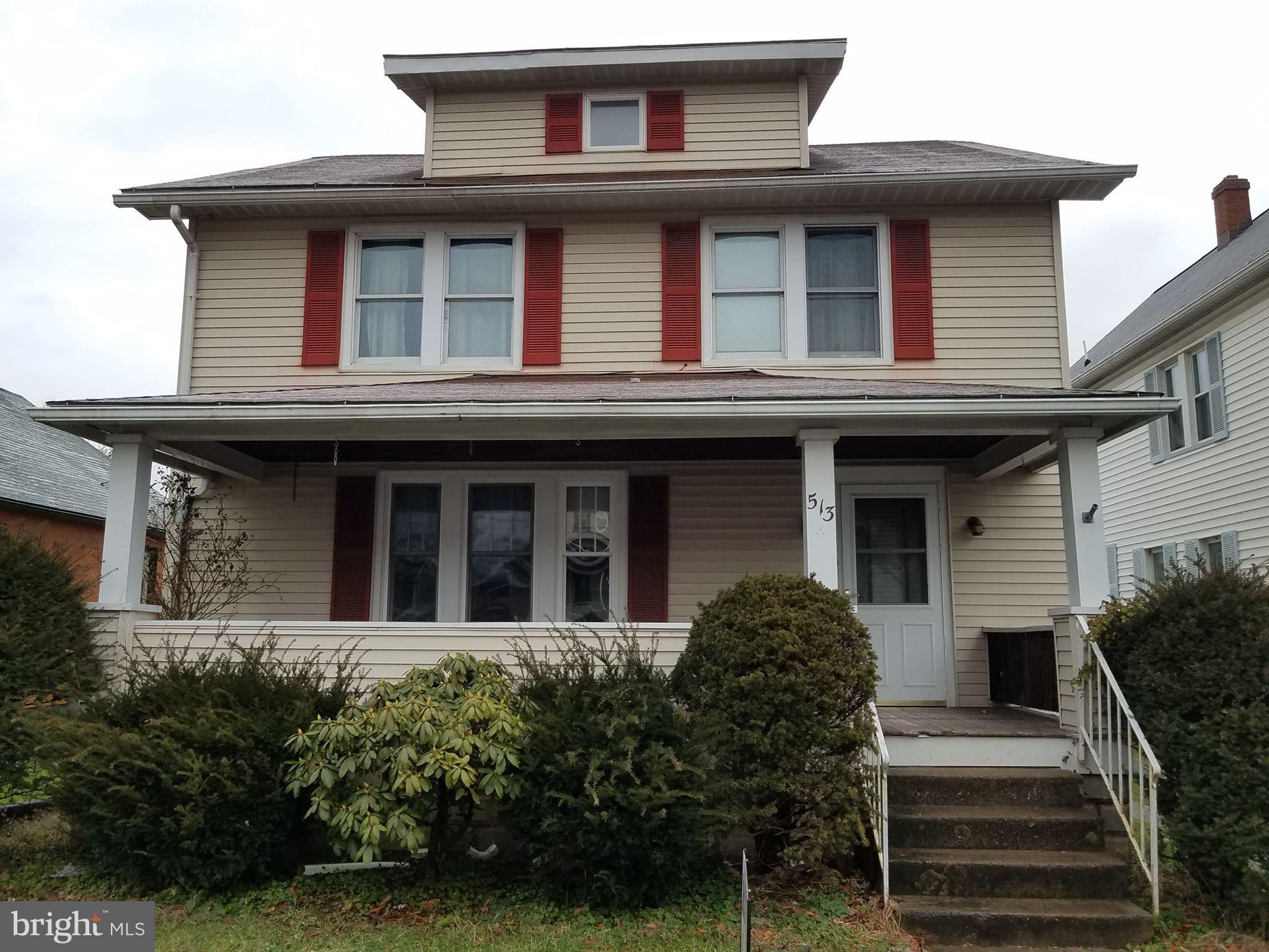 513 WILSON STREET, WILLIAMSPORT, PA 17701
