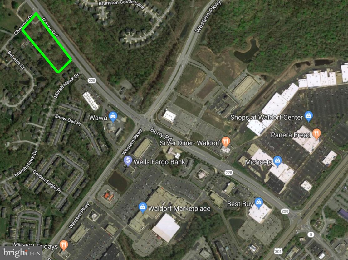 Lot 1-7 Waldorf Hghts BERRY ROAD, WALDORF, MD 20603