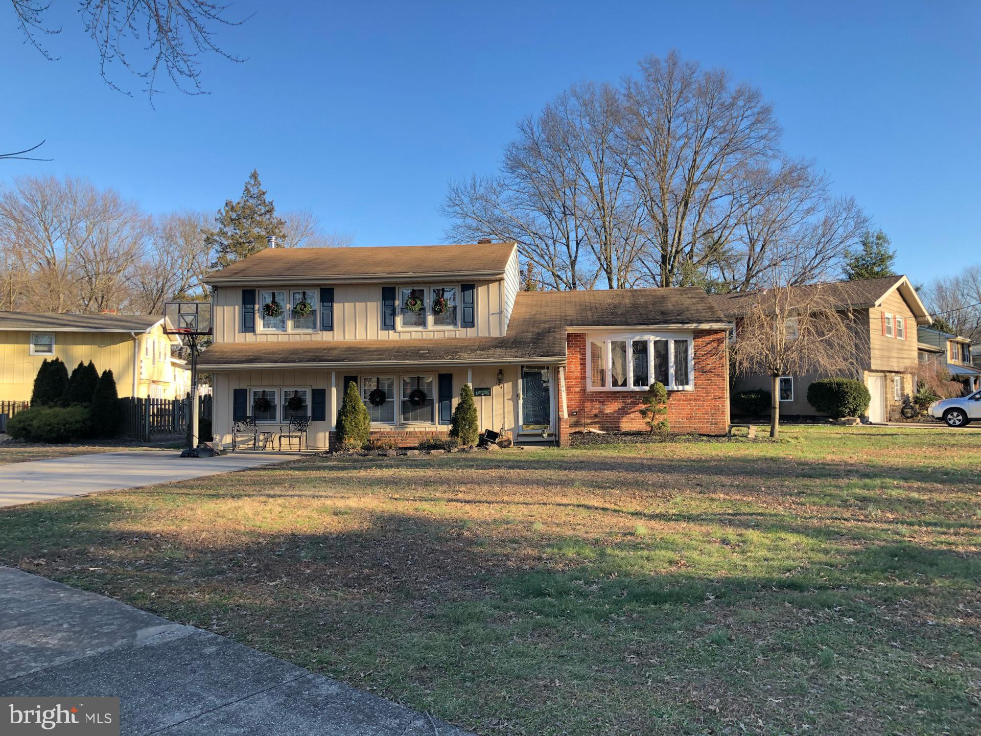 Haddon Township~s finest neighborhood beholds this gem of a home. Tucked away on a quiet residential street where there is strong pride, this home is located on a large corner lot. Hurry and get your offer in today as this Fannie Mae home will not last long!!!  The online sale will begin 2/4/2019 and end 2/6/2019.