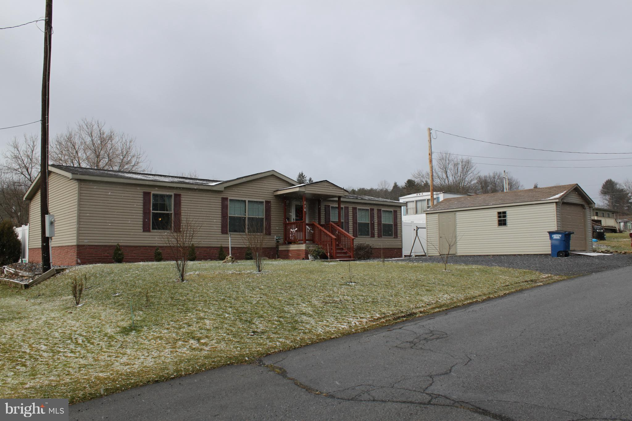 530 CLIFF STREET, ROBERTSDALE, PA 16674