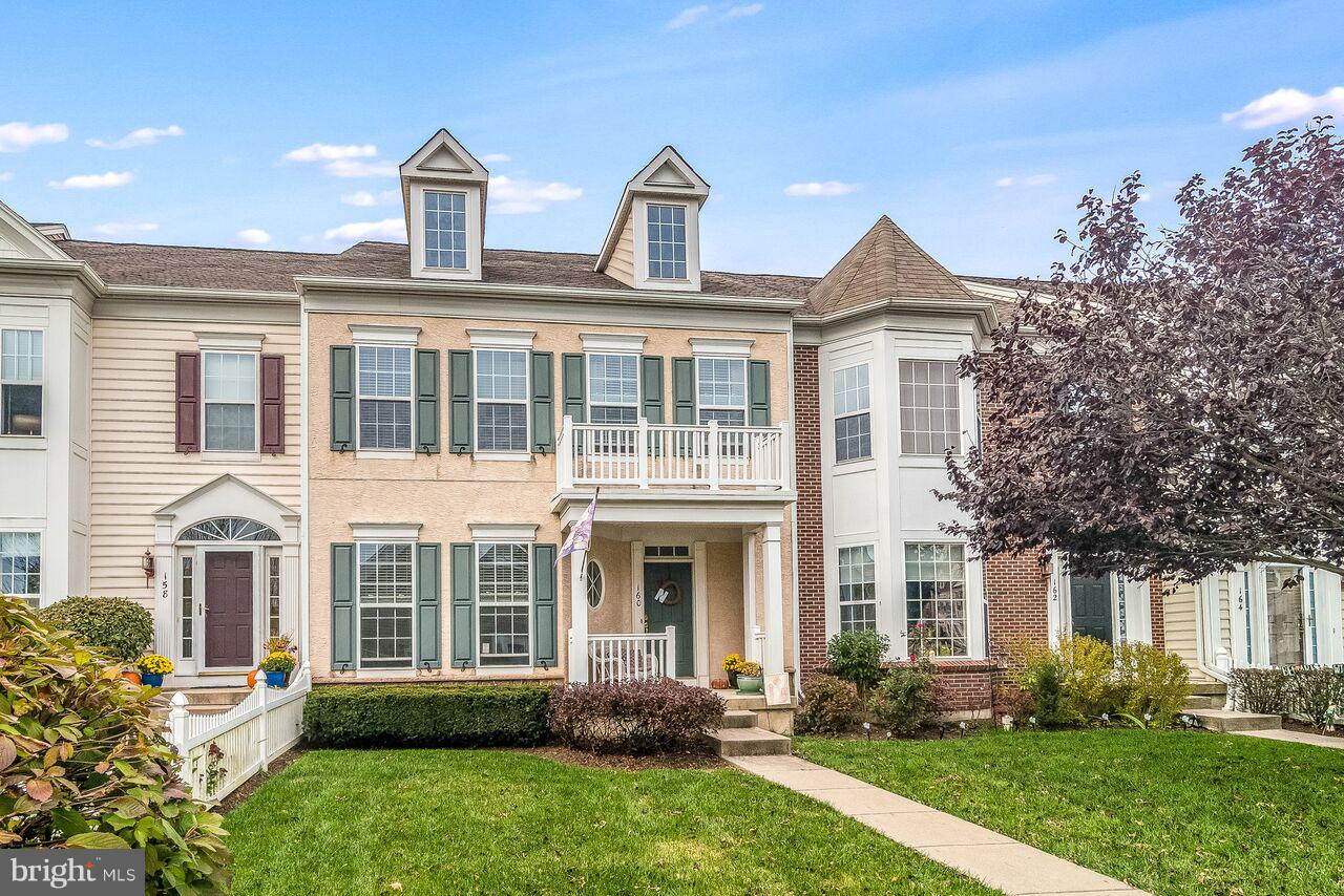 160 PIPERS INN DRIVE, FOUNTAINVILLE, PA 18923