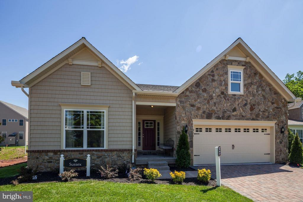 "Gemcraft Homes Shirley Ridge Community near White Marsh Mall!  Close to I-95, I695, shopping, recreation and schools.  Rancher with open floor plan, featuring 9ft ceilings, 42"" cabinets, granite counter tops, large master suite, finished lower level recroom with full bath and deck.  Taxes are estimated and photo's are of a like model."
