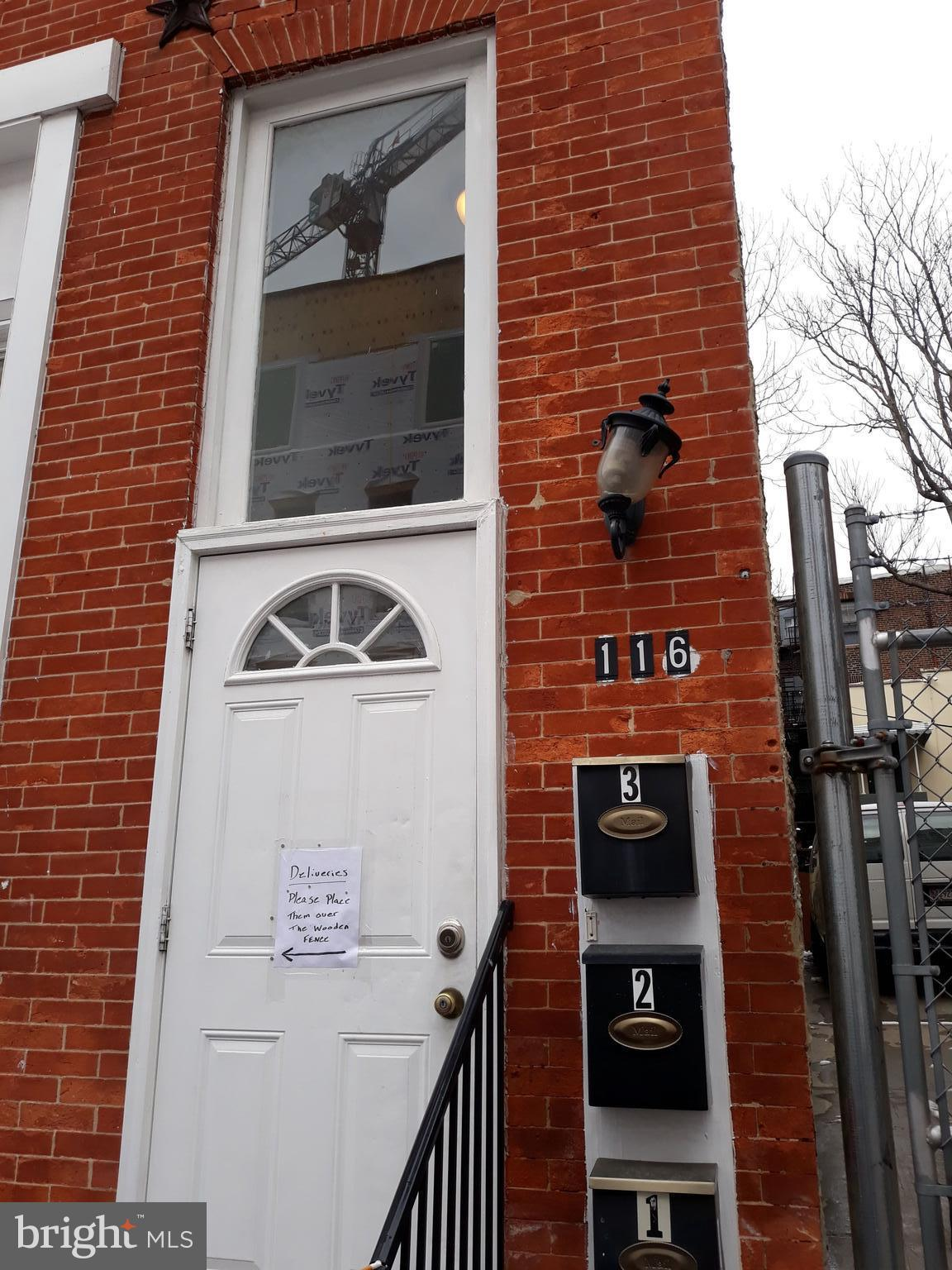 116 CLAY STREET, BALTIMORE, MD 21201