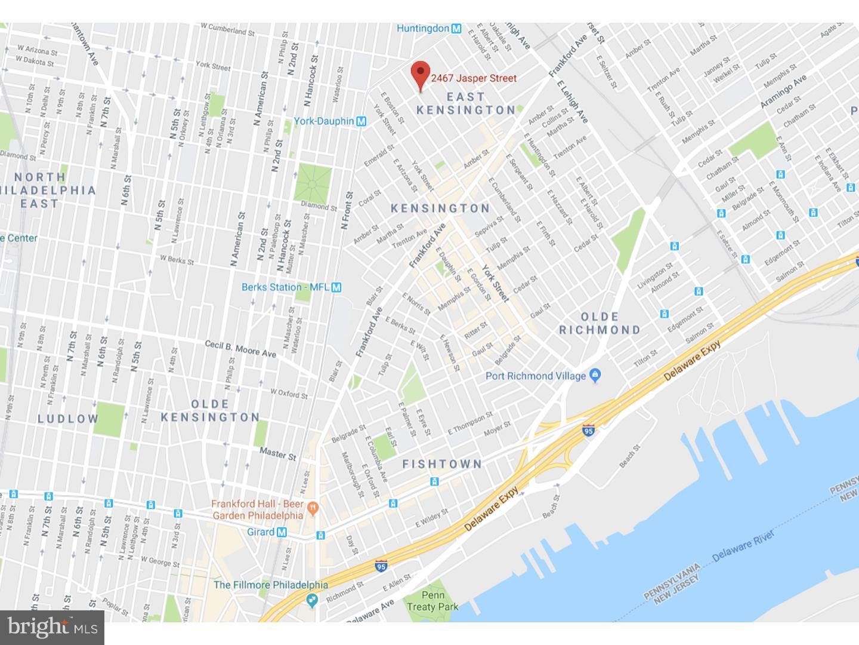 2467 JASPER STREET, Philadelphia, 19125, MLS # PAPH722016 | RE/MAX on west kensington philadelphia map, kensington philly, fishtown philadelphia map,