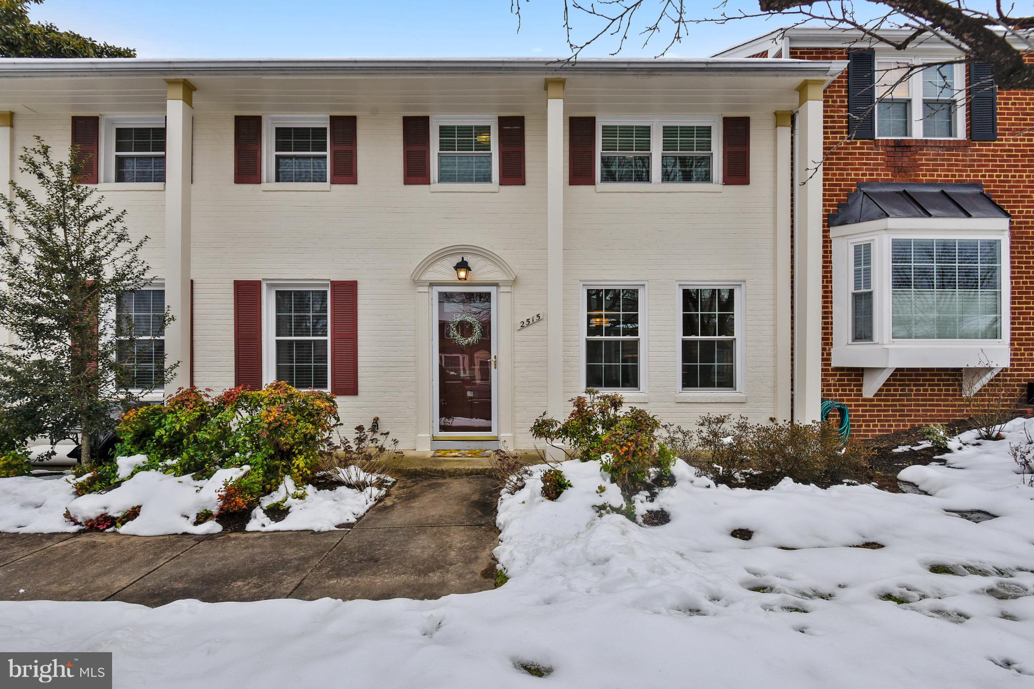 Super cute! Recently updated.  2 level townhouse in Fairlington Towne.  3 bedrooms up. Beautiful kitchen-stainless, granite, gas cooking.  Cute updated 2nd floor full bath. main floor half bath. Hardwoods thru out. Fenced  patio backs to large grassy area.