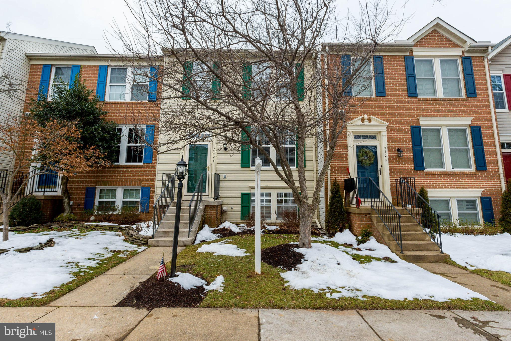 Open and airy townhouse, sure to impress. Gleaming kitchen with stainless steel appliances and granite countertops, hardwood floor living area transitions into a newly tiled kitchen, and new paint throughout this charmer. 3 BRs and 3.5 baths on 3 levels. Awesome finished basement with fireplace, built-in bookcases and a den/4th BR. The deck, located off the kitchen that hovers over a fenced back yard, is perfect for grilling and dining out in the open air.  Natural light floods each level, including the walk-out basement which boasts full sized windows. Turn key ready! New HVAC 2018. New roof 2017. New carpets, appliances and front and deck doors 2015. A commuter's dream:1 mile to the Franconia Springfield Metro (blue line), 2 miles to I-95/395/495 access ramp. Also, just a short walk of .4 miles to Lane Elementary School. Move right in. This one won't last.