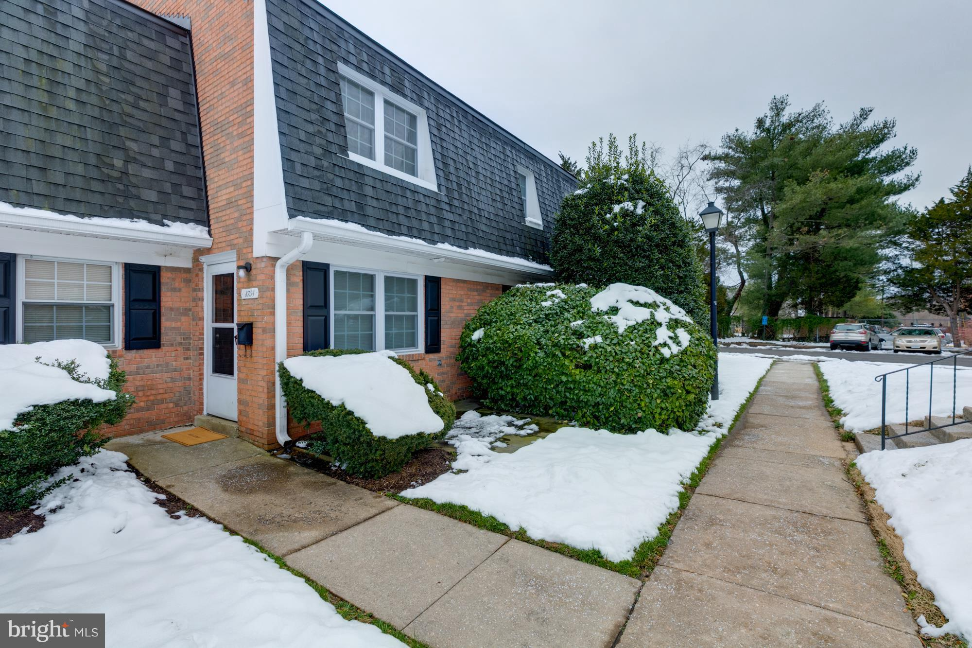 OPEN SUNDAY January 20, 2019--2-4 PM....Beautiful red brick townhouse condo....fresh paint...updated carpet...newer double pane windows...nice neutral miniblinds throughout...LOTS OF updates in kitchen and bath.....full size MAYTAG washer and dryer in unit in separate laundry room...private patio...HMS Home Warranty provided to new buyer(s)...reasonable condo fee includes water/sewer, exterior maintenance, trash service, parking, pool, tot lot, basketball court, more...A WOW!!!