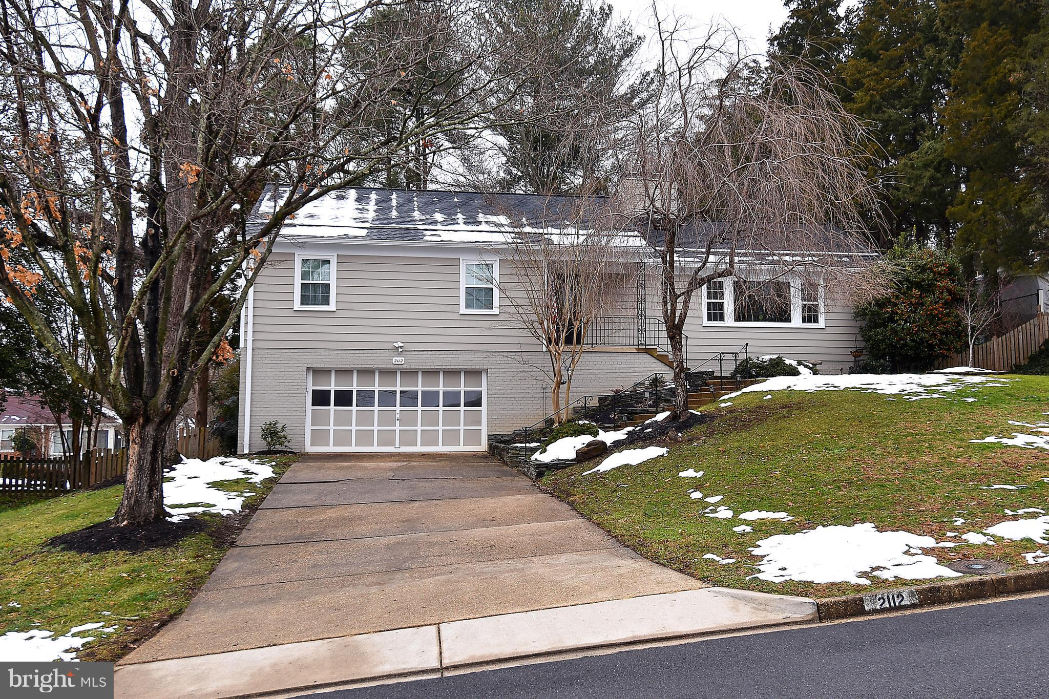 Come stay at this exceptionally updated & worry-free home. Approx 2900 Sq Ft of space (1800 above & 1100 below grade) 4 bedrooms; 3 full baths; dining room, large living rm; huge kitchen.  2nd large living area in basement along w/huge utility room including frig  & ample storage. Main level hardwood and lower level vinyl waterproof flooring replaced 2018. New triple pane windows. Verizon FIOS ready. Easy home to clean.  Dogs are welcome with landlord approval. You will find the side-walk neighborhood a joy to spend long walks & you will meet friendly neighbors as well.  Elementary school is in walking distance. Garbage and recycling is included at no charge. Spectacular updated kitchen w/huge island.  New appliances in 2016. Roof and decking replaced in 2018. Triple pane windows in 2018. Basement remodeled in 2018. updated master & 2nd bath in 2016. Updated lighting 2016 - 2018. Energy Efficient exterior doors 2018. A/C (2016), gas furnace 2018, electrical panel 2018, exterior paint 2017, storage shed 2017, cable and internet connections throughout 2016, and a lot of landscaping that is easy to maintain but fun to enjoy.