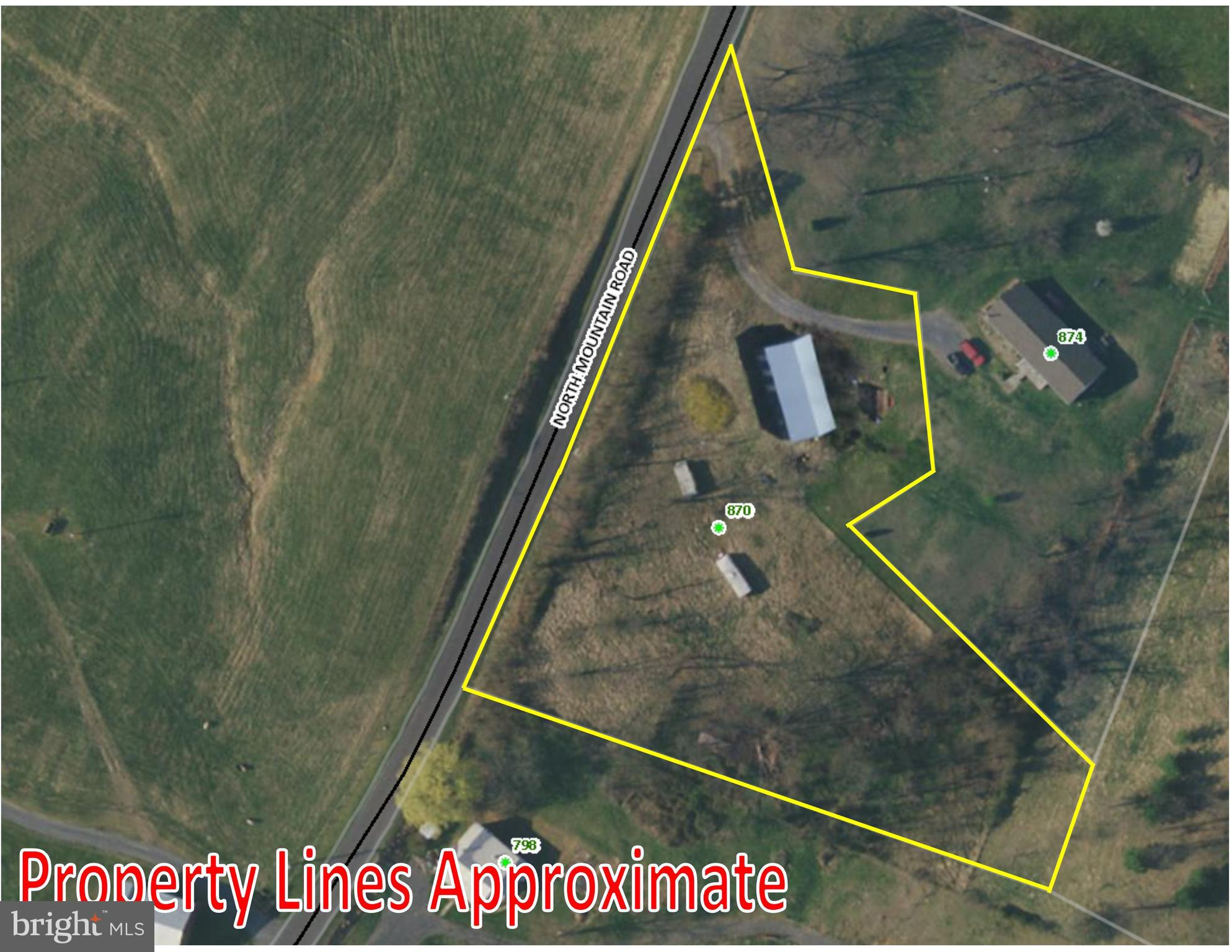 870 NORTH MOUNTAIN ROAD, TIMBERVILLE, VA 22853